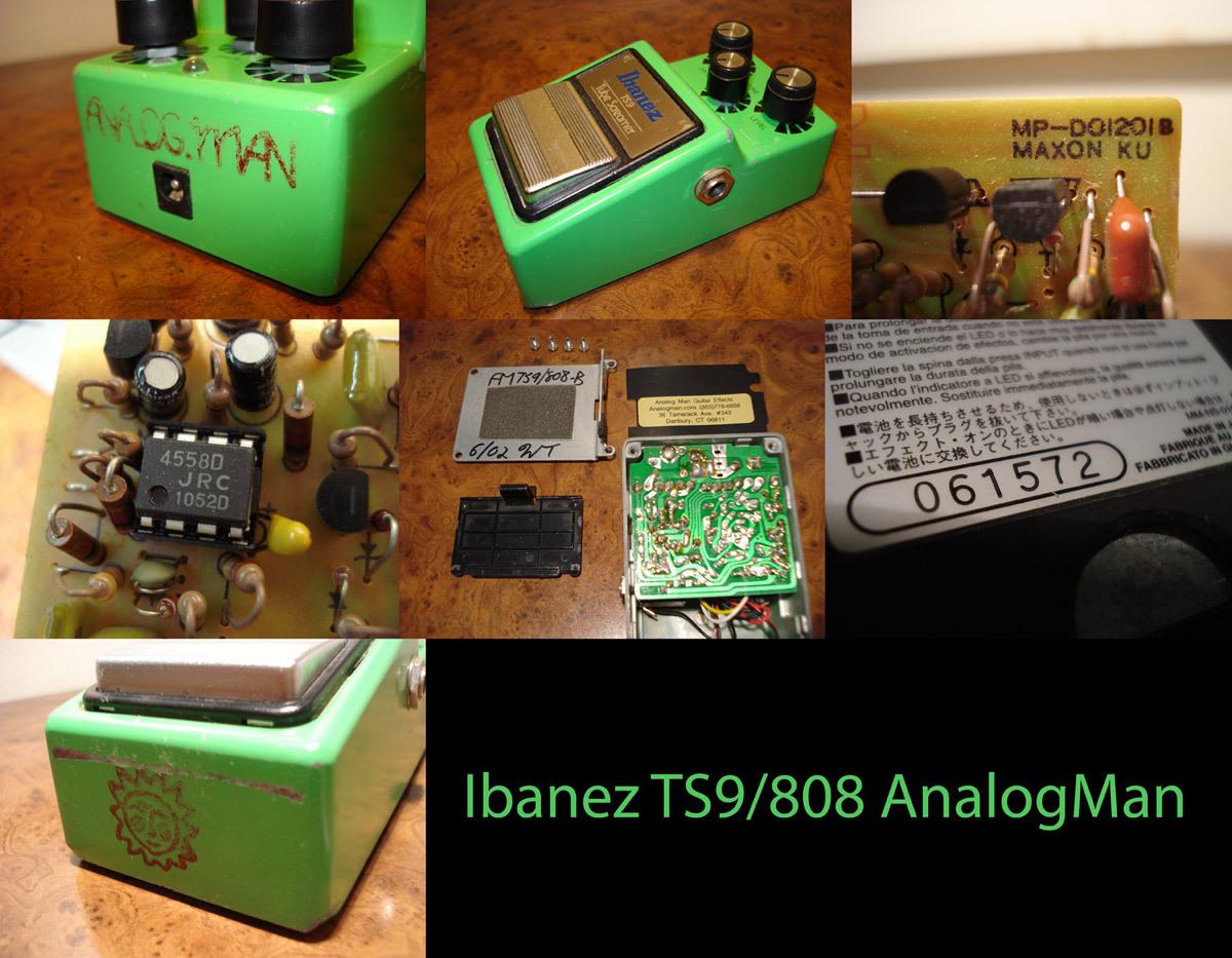 Analog Man Ibanez TS-9/ Mods
