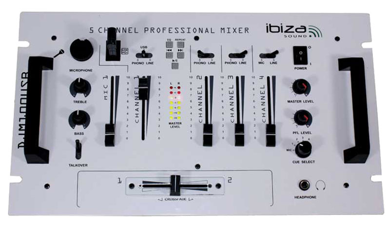 Ibiza sound djm100usb wh image 609978 audiofanzine - Table de mixage ibiza mix 800 ...