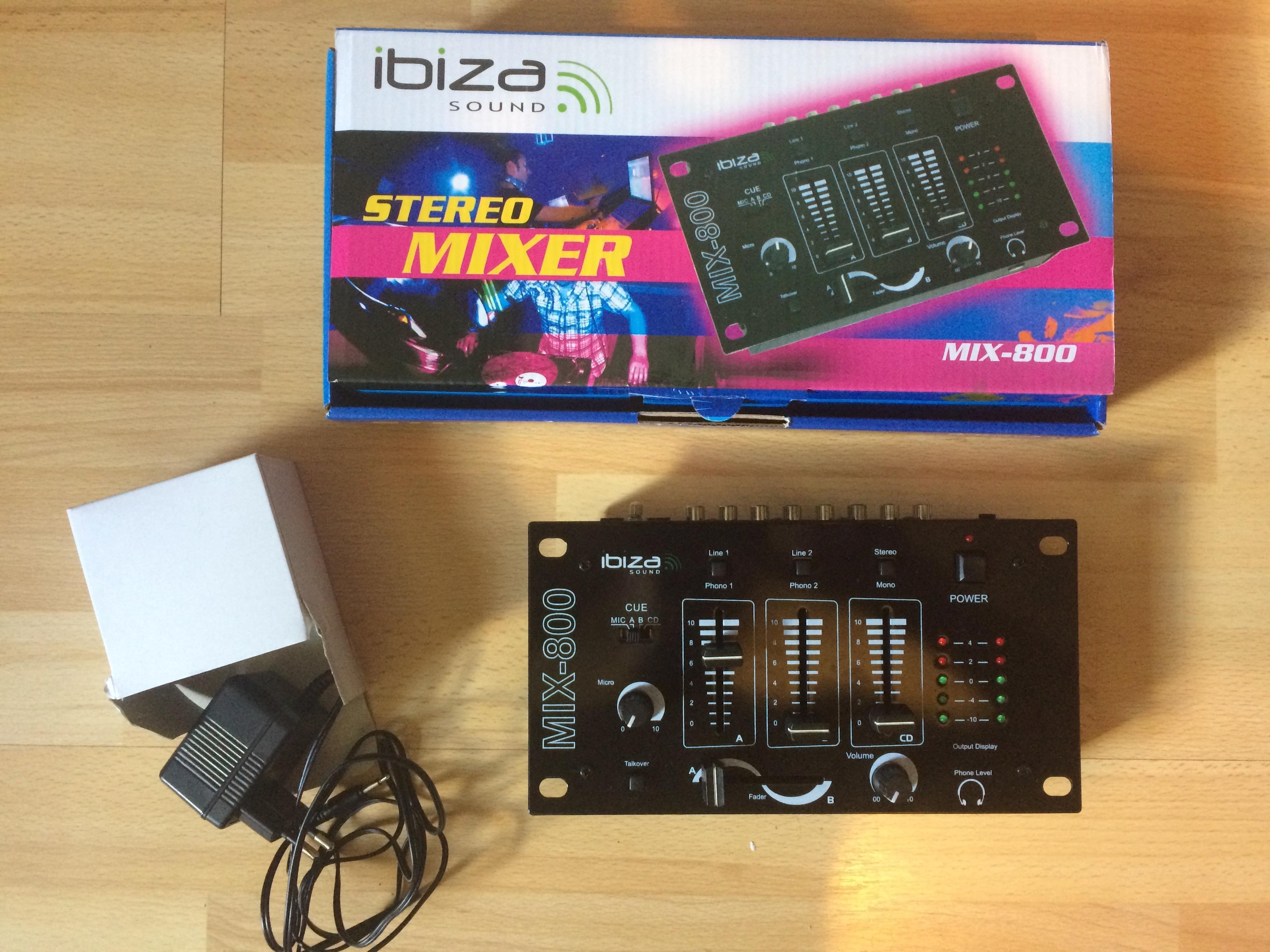 Vend pack de sonorisation ibiza sound haute normandie - Table de mixage ibiza mix 800 ...