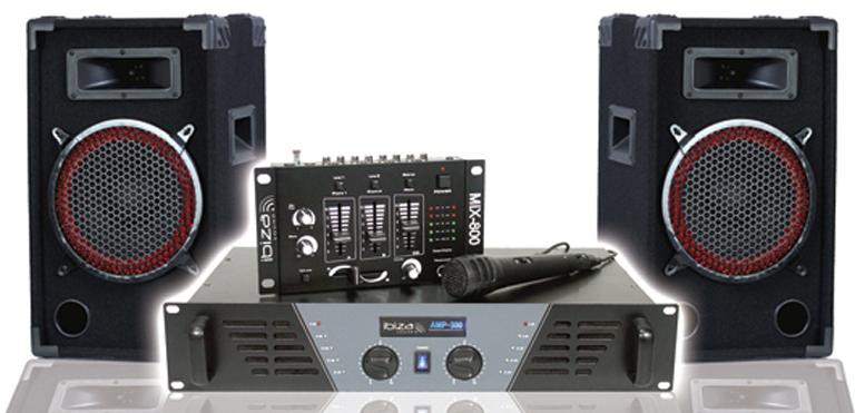 Photo ibiza sound mix 800 ibiza light pack sono dj 300 - Table de mixage ibiza mix 800 ...