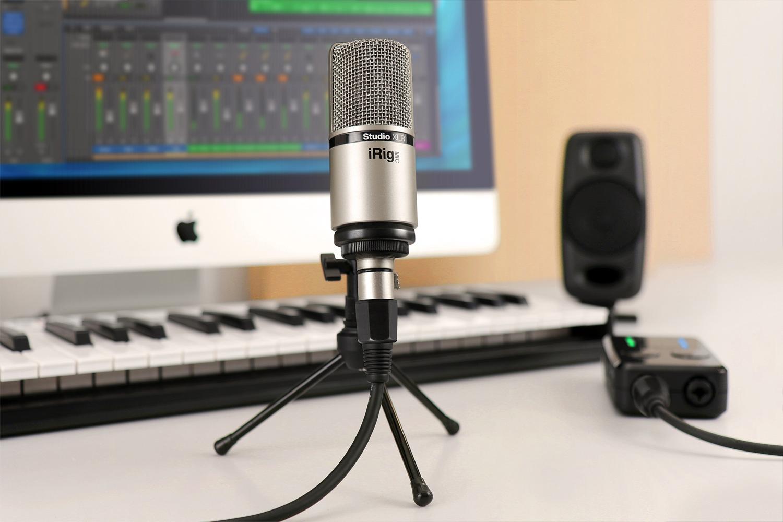 iRig Mic Studio XLR - IK Multimedia iRig Mic Studio XLR - Audiofanzine