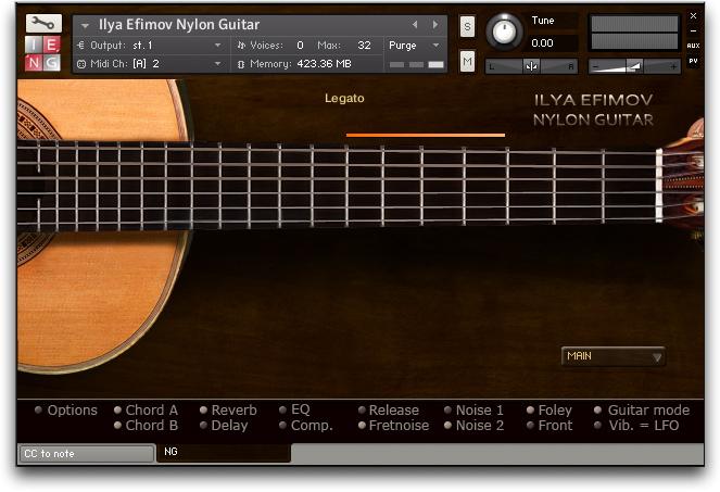 guitare acoustique virtuel