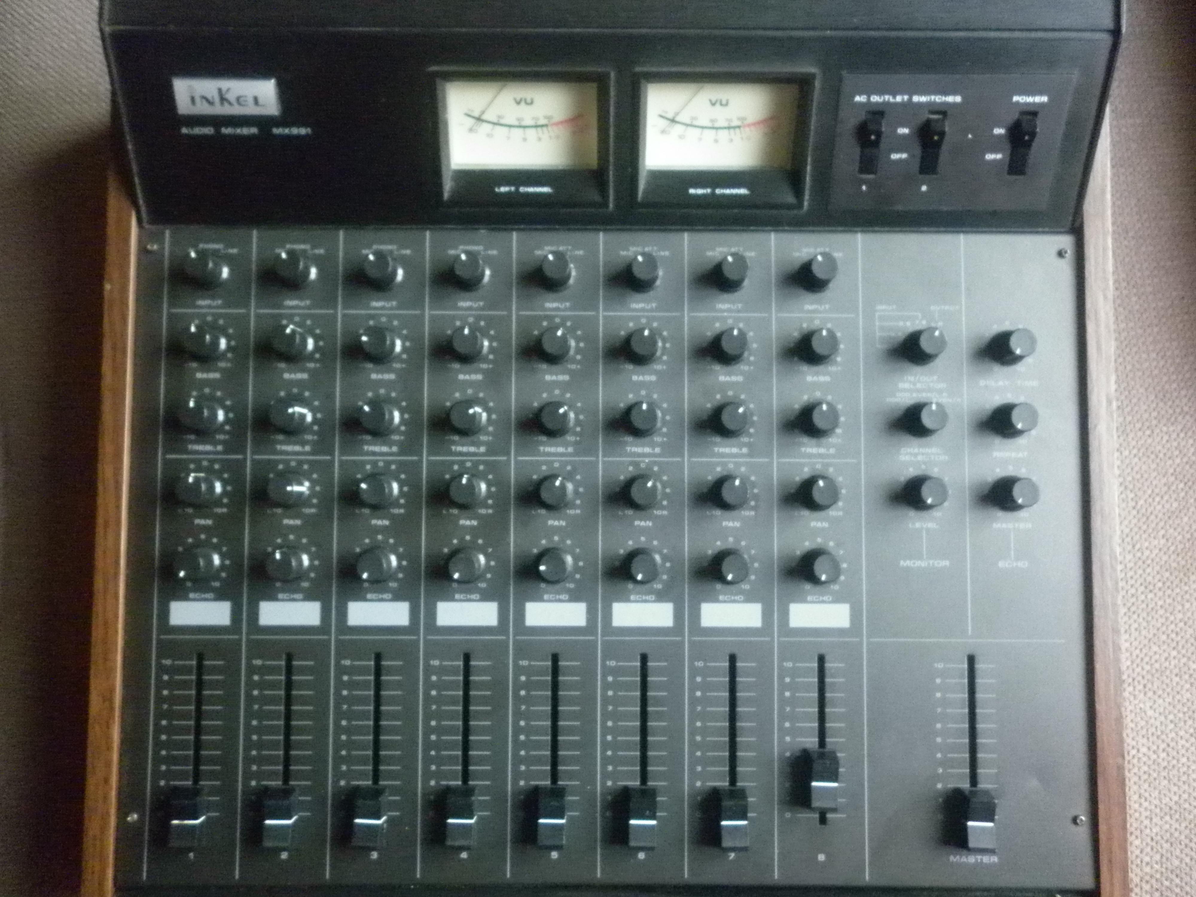 table de mixage inkel mx 991