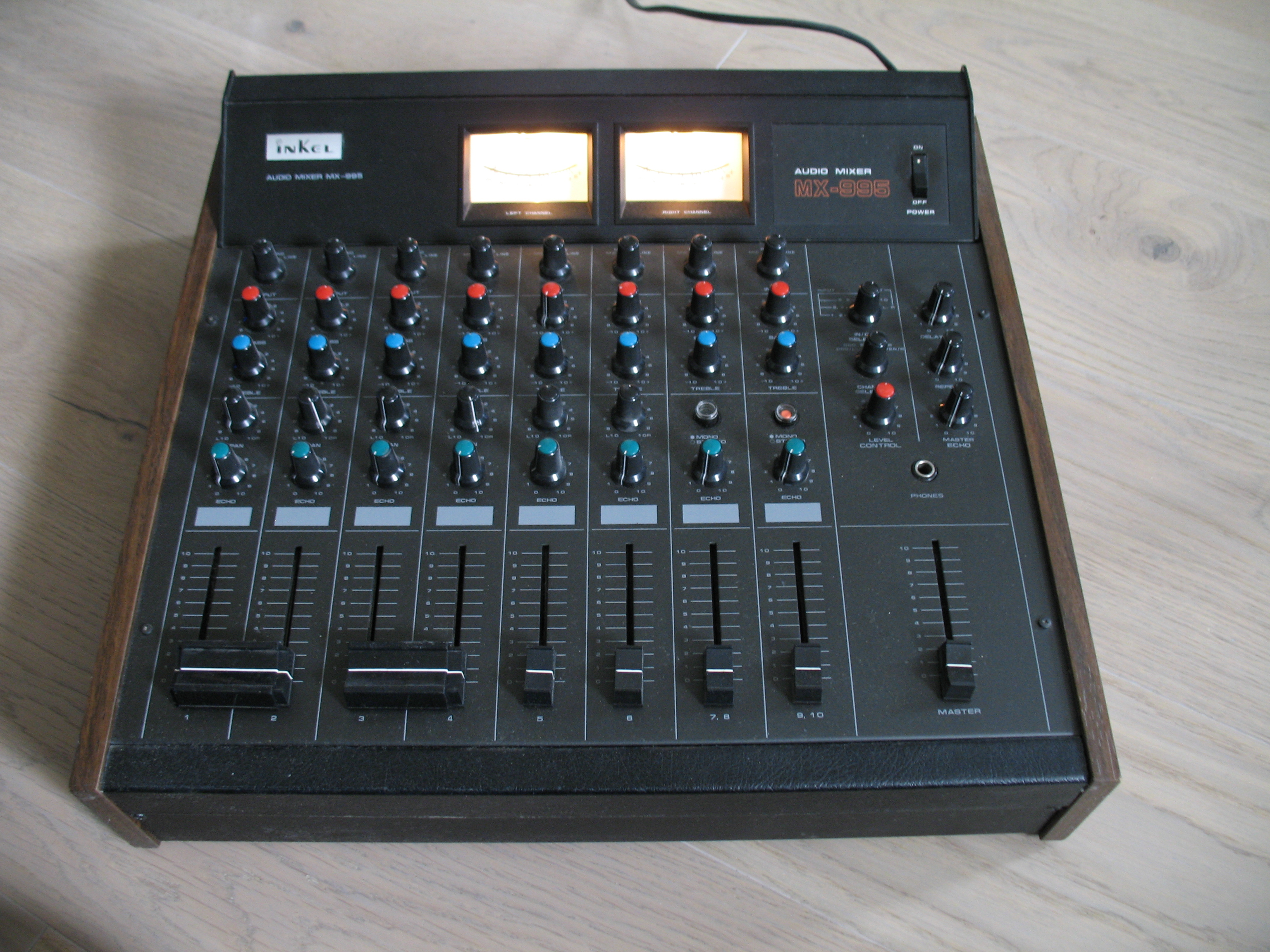 table de mixage inkel pro mx 1200