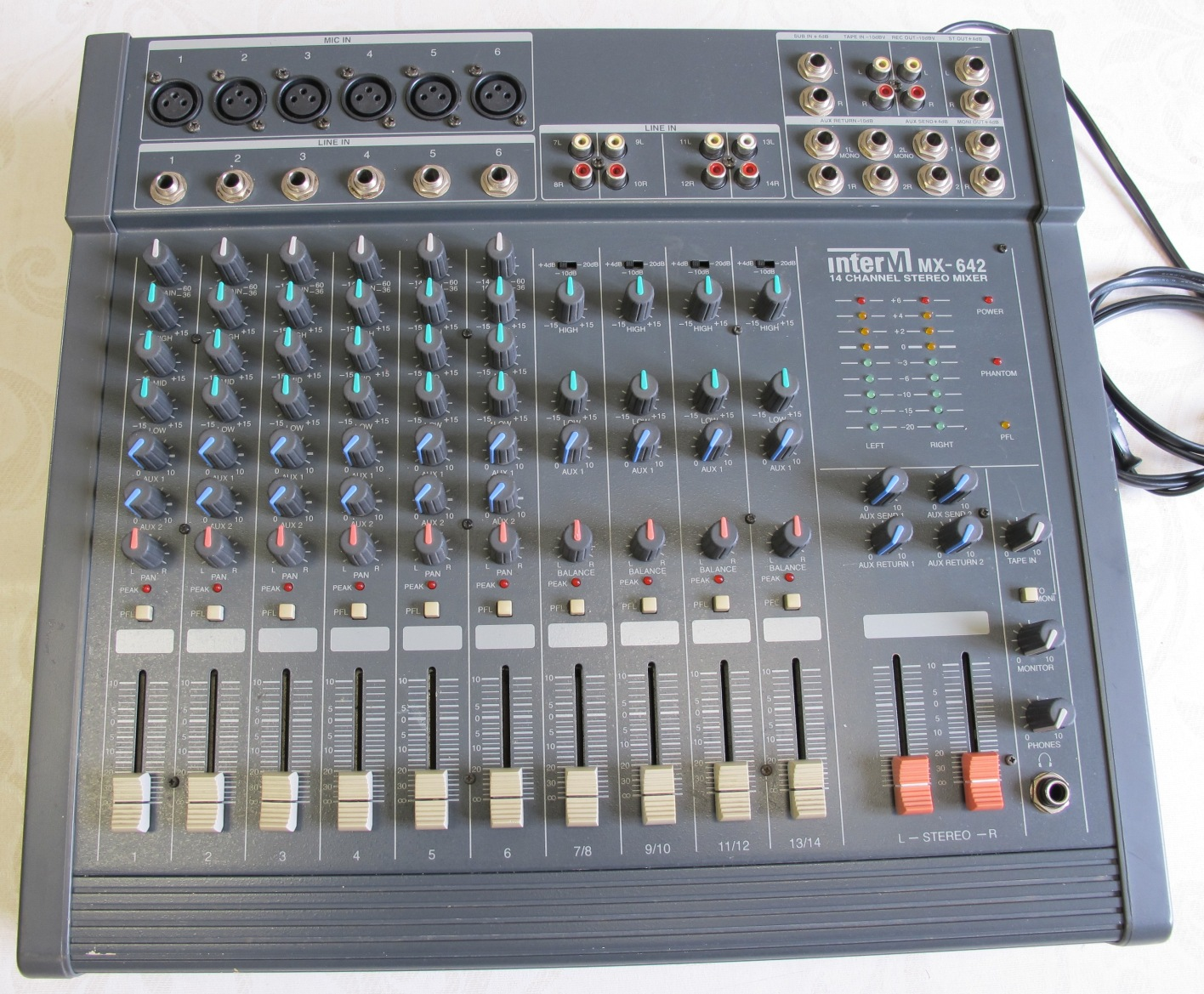 table de mixage inter m mx-642