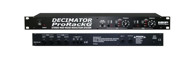 Vend 1 Isp Technologies Decimator Pro Rack Stereo Neuf