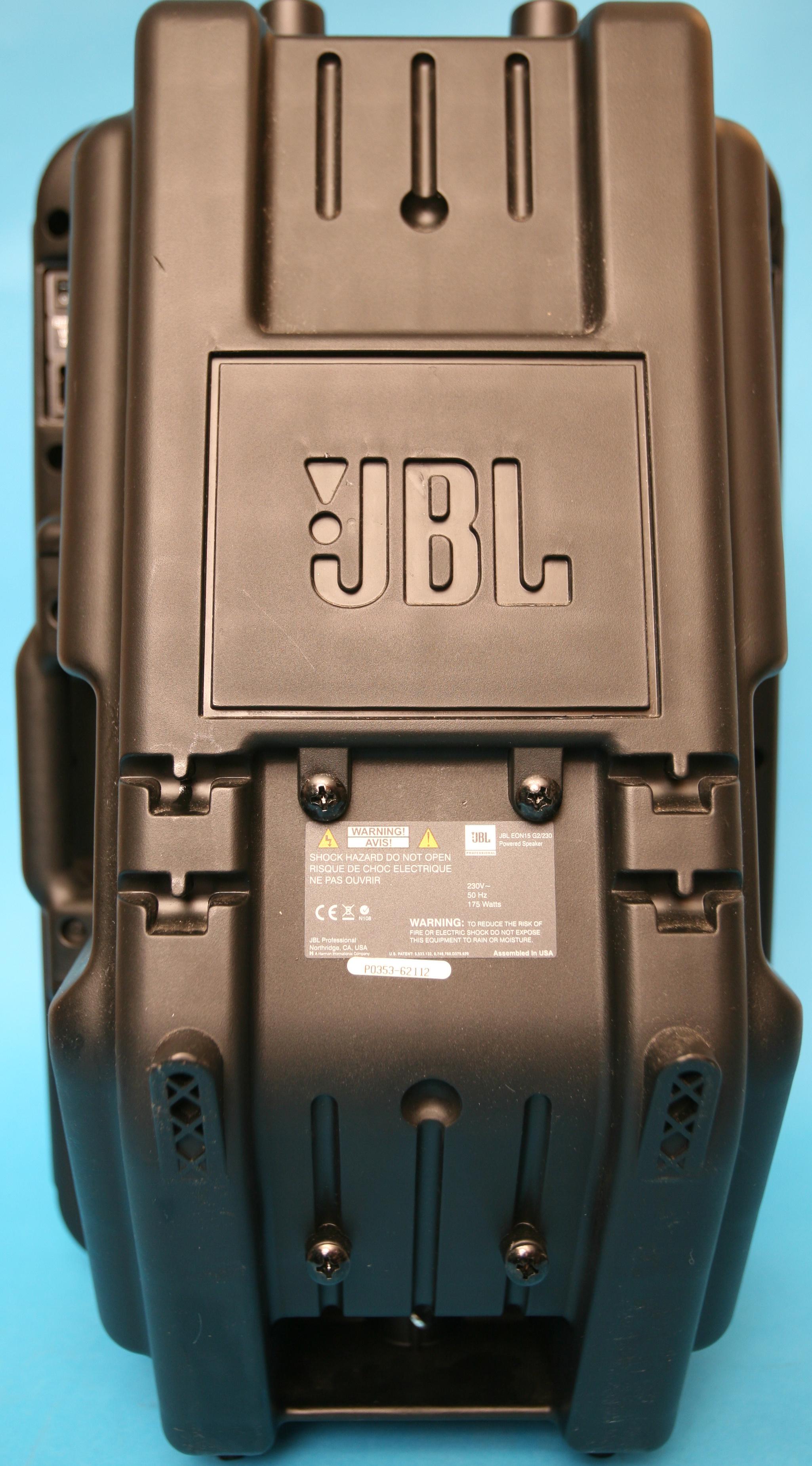 jbl eon 15 image 600489 audiofanzine. Black Bedroom Furniture Sets. Home Design Ideas