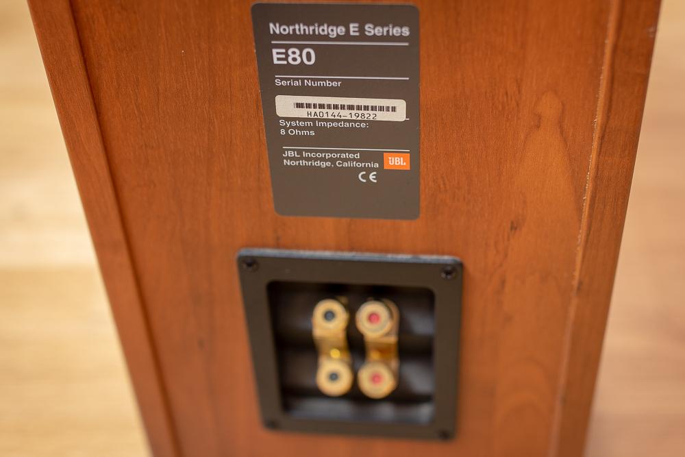 Goede NORTHRIDGE E80 - JBL Northridge E80 - Audiofanzine NE-56