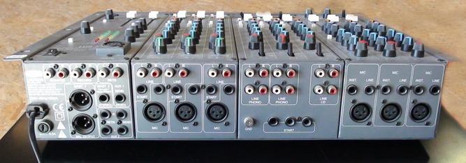 table de mixage jcb sx 800