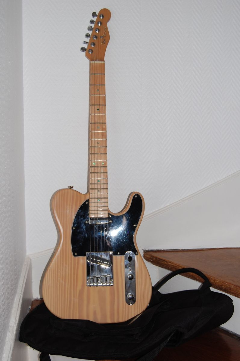 Jim reed guitars telecaster special usa image 191542 for Chitarre magazine