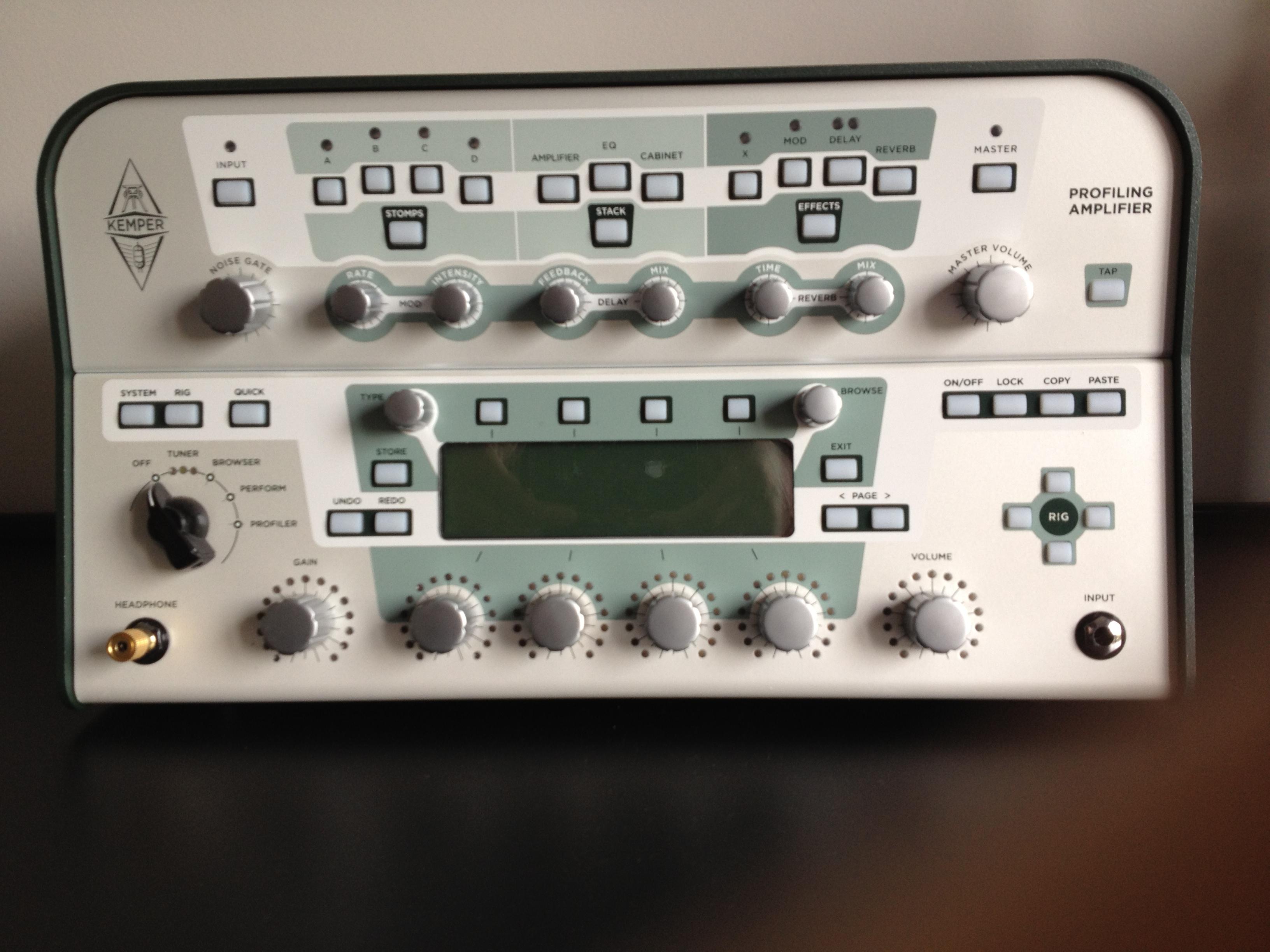 kemper profiling amplifier image 390150 audiofanzine. Black Bedroom Furniture Sets. Home Design Ideas