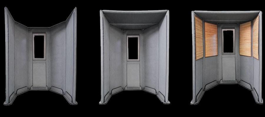 cabine acoustique modulable 40 ile de france audiofanzine. Black Bedroom Furniture Sets. Home Design Ideas