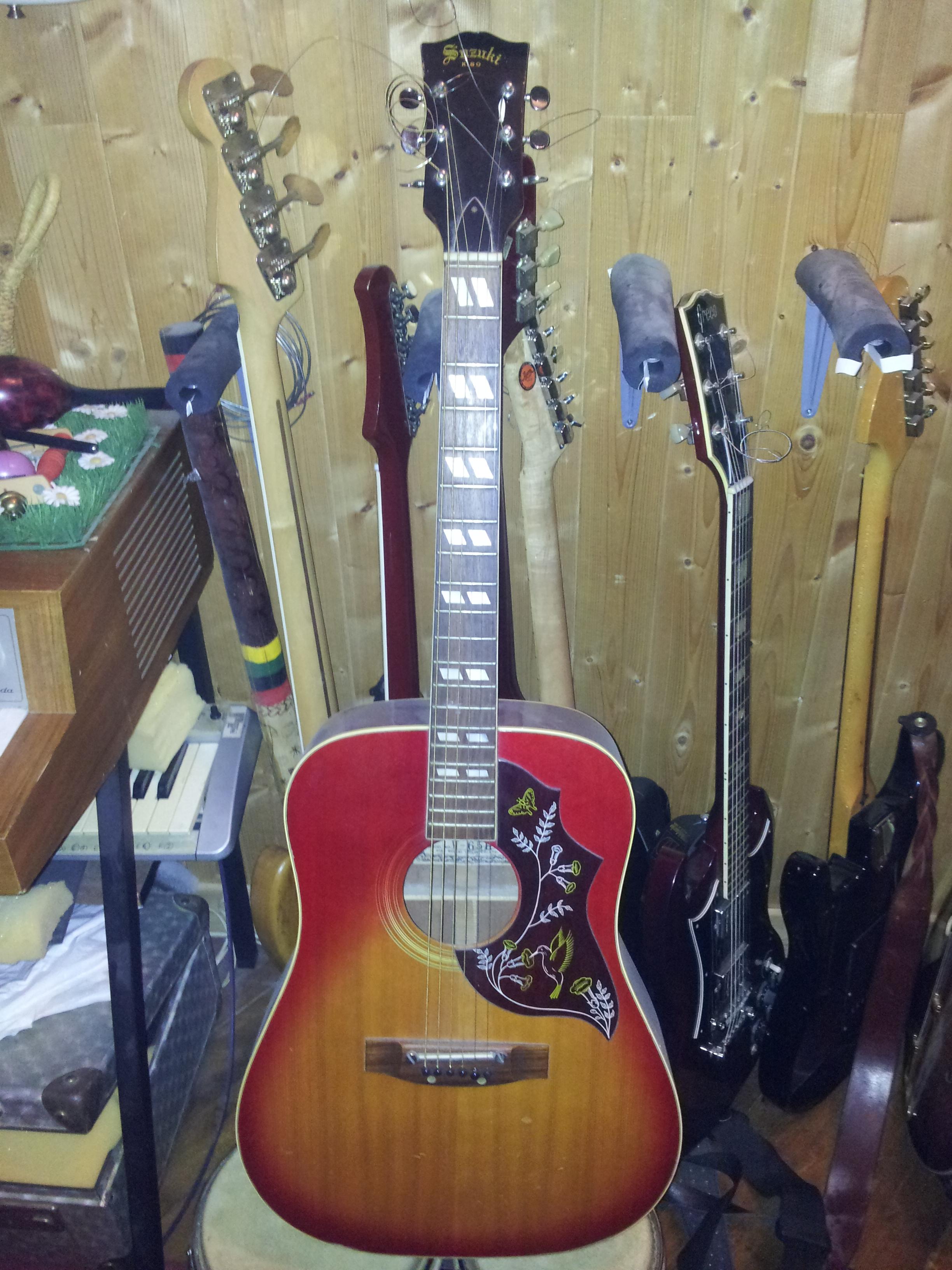 guitare acoustique suzuki