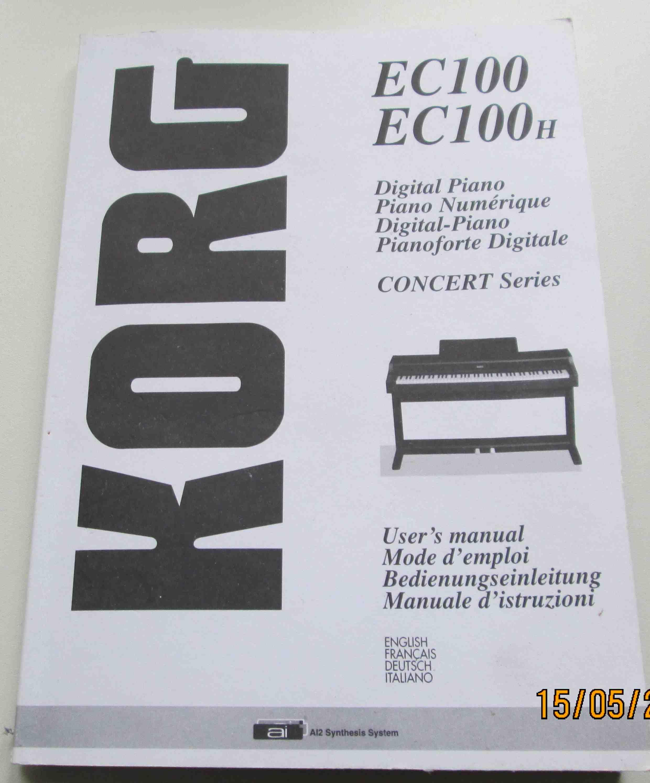 photo korg ec100h korg ec100h 11736 1108941 audiofanzine. Black Bedroom Furniture Sets. Home Design Ideas