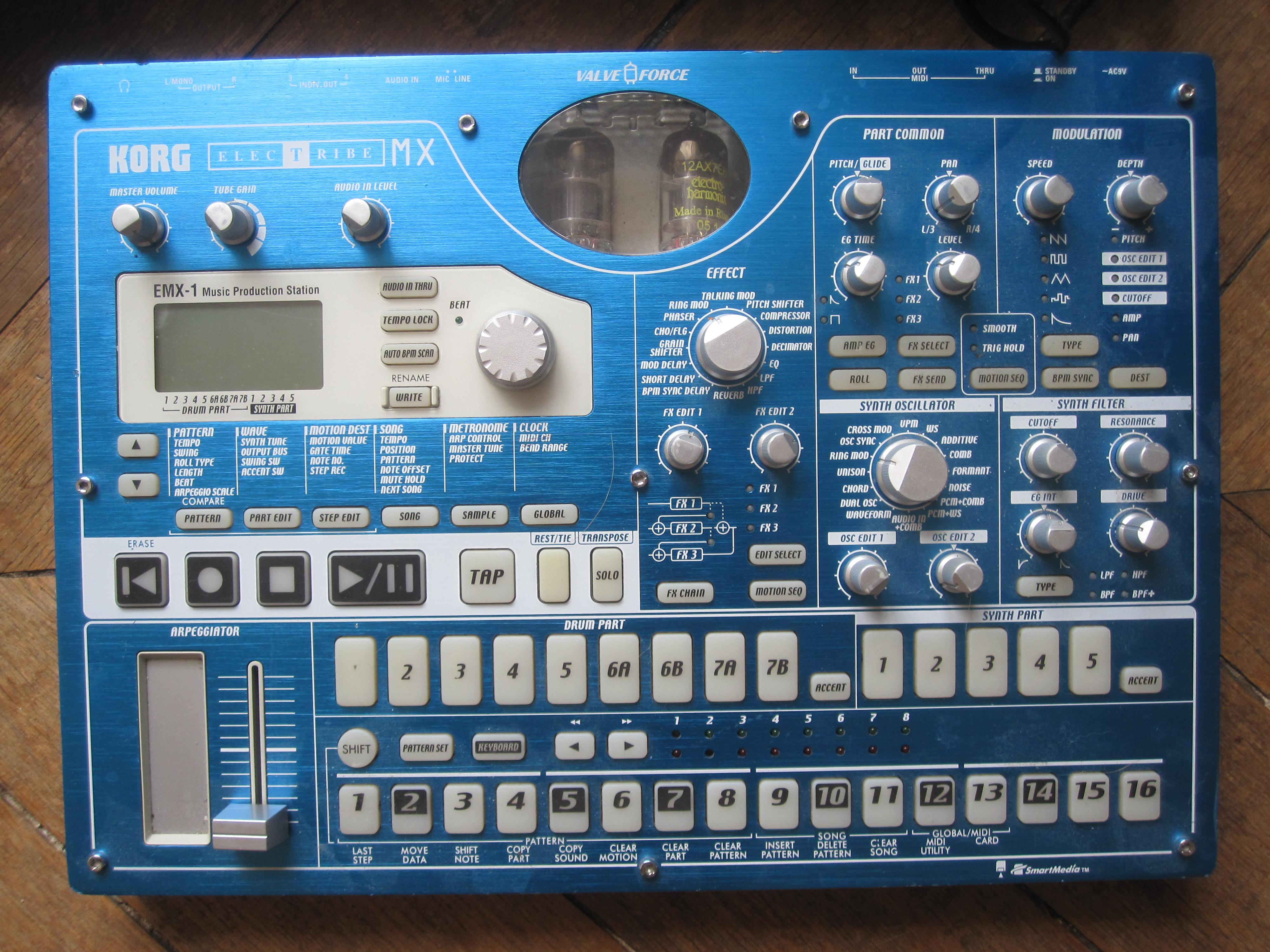 Korg ElecTribe EMX1 image (#278943) - Audiofanzine