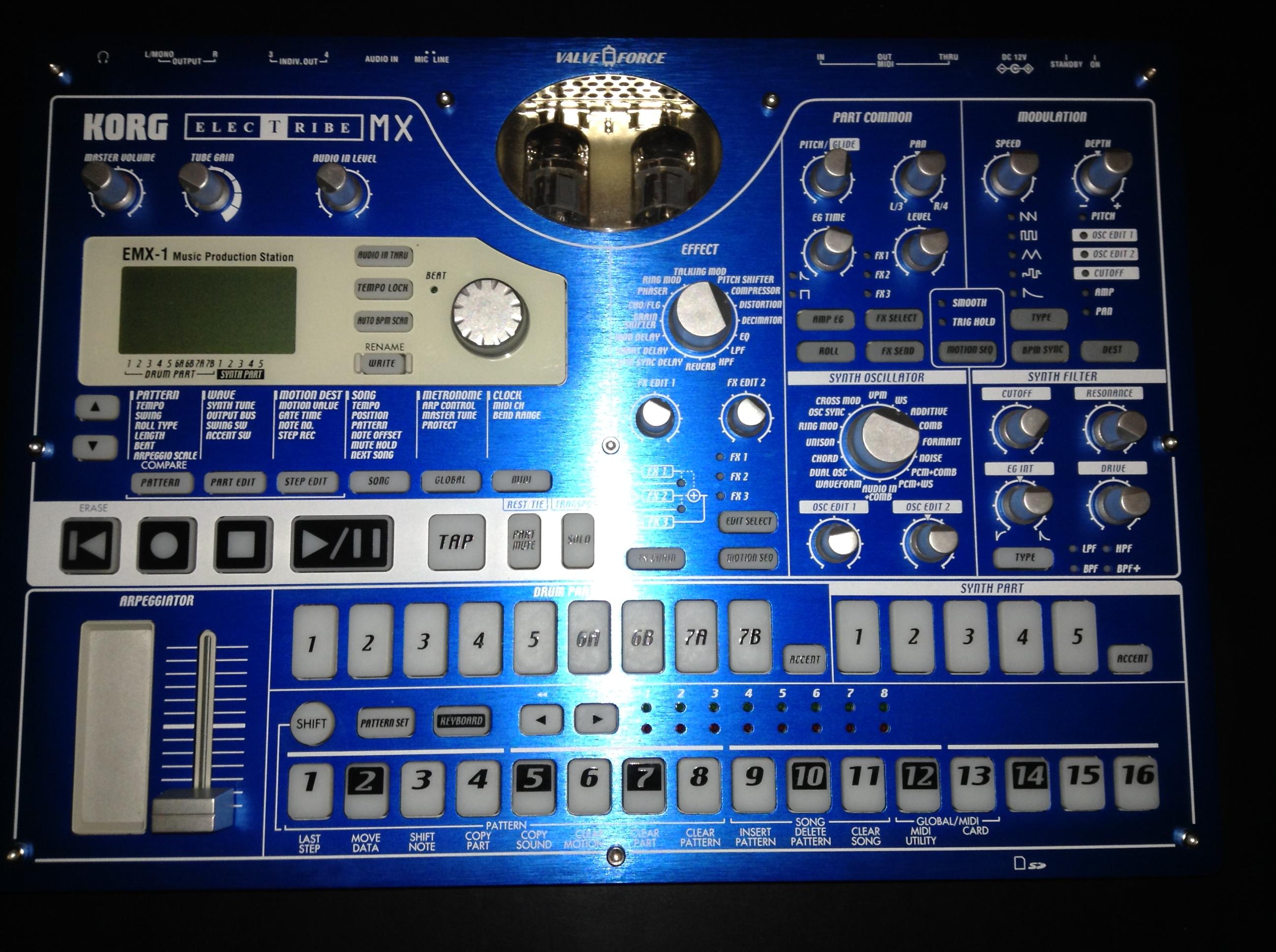 Prezentacja KORG ELECTRIBE EMX-1 SD - YouTube