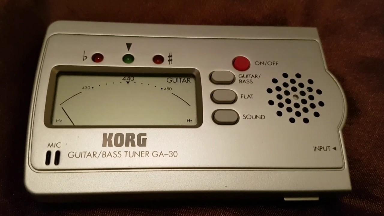 GA-30 - Korg GA-30 - Audiofanzine