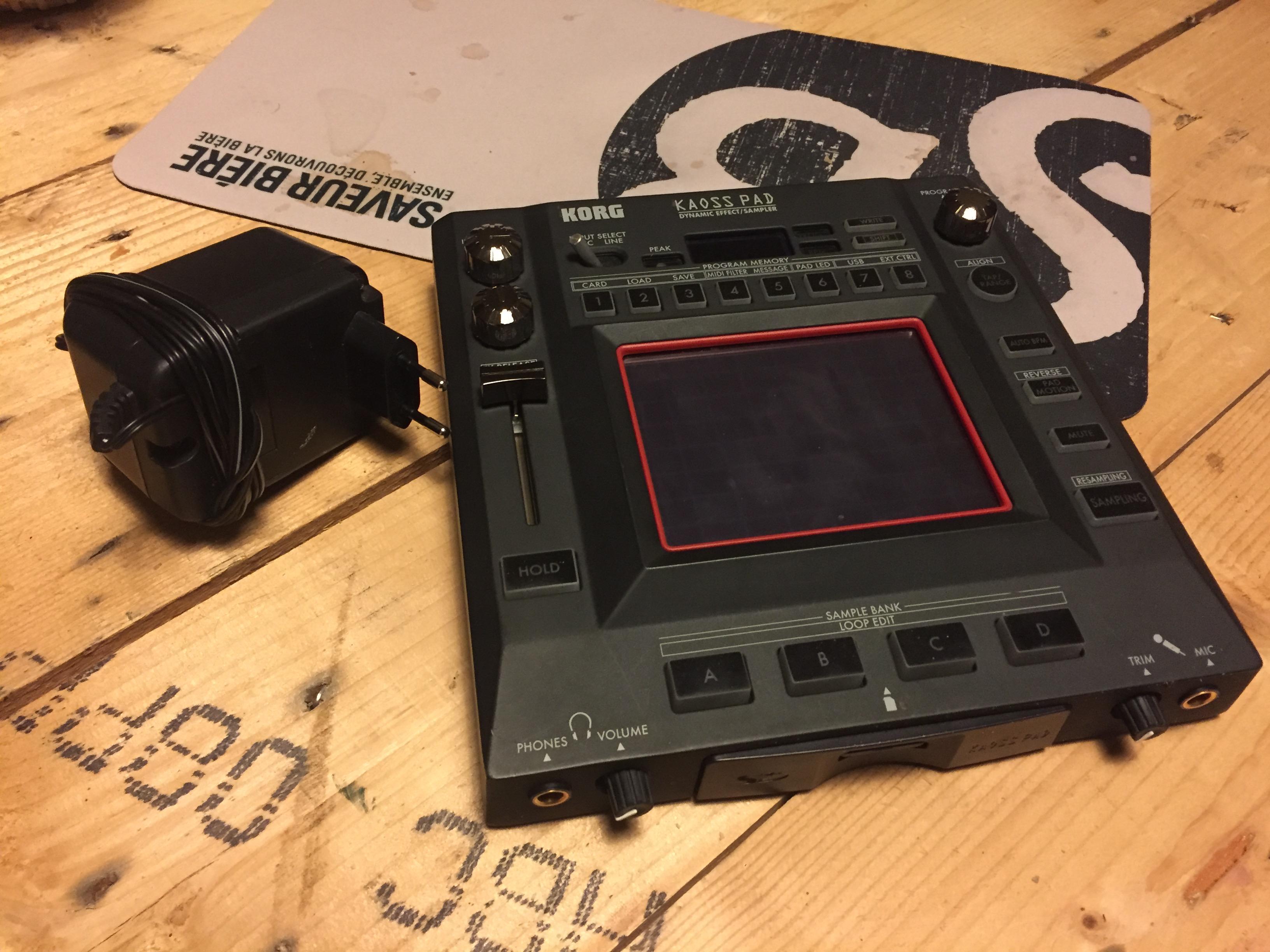 korg kaoss pad 3 kp3 image 1677115 audiofanzine. Black Bedroom Furniture Sets. Home Design Ideas
