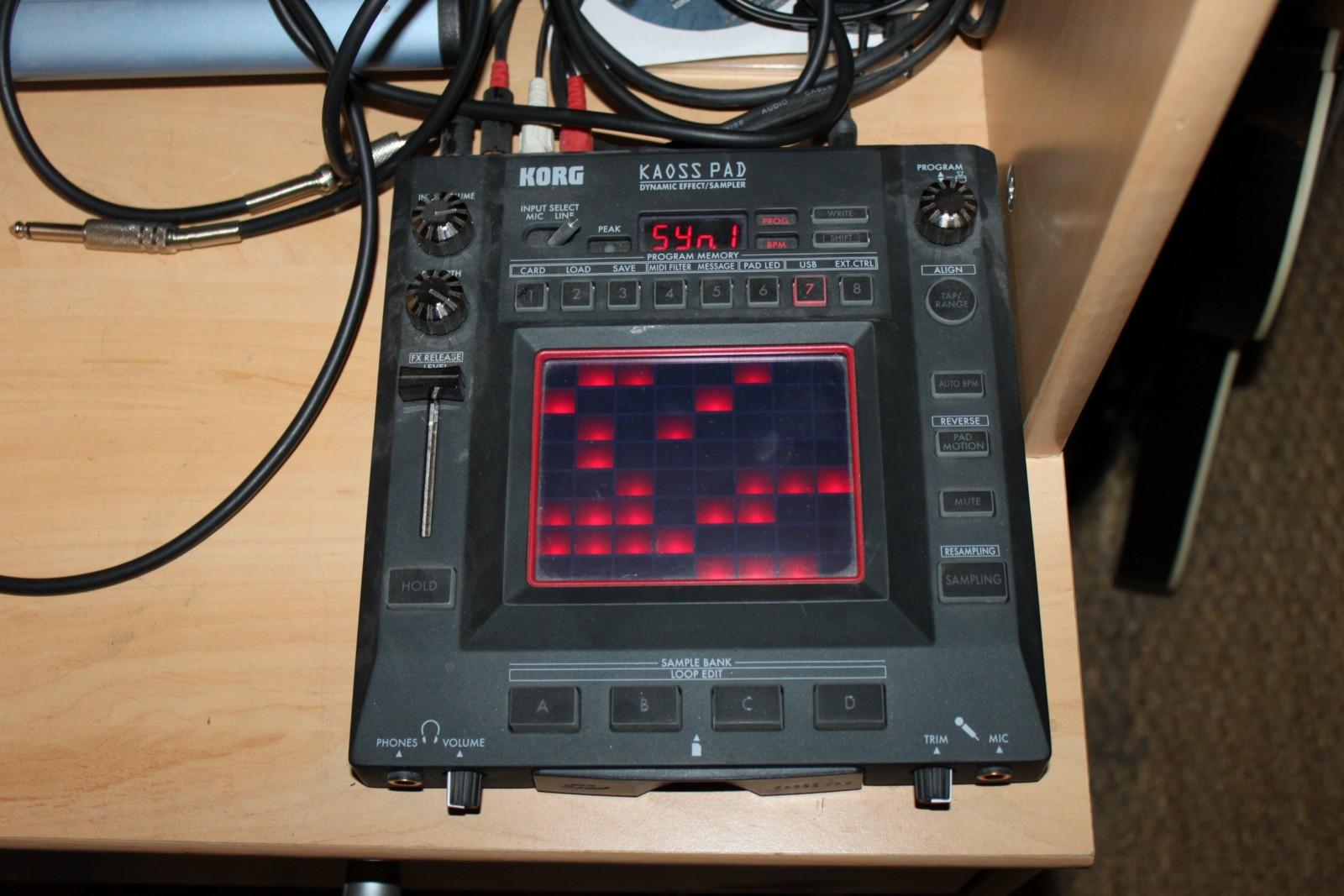 Korg Kaoss Pad 3   Синтезаторы   музыкальный магазин