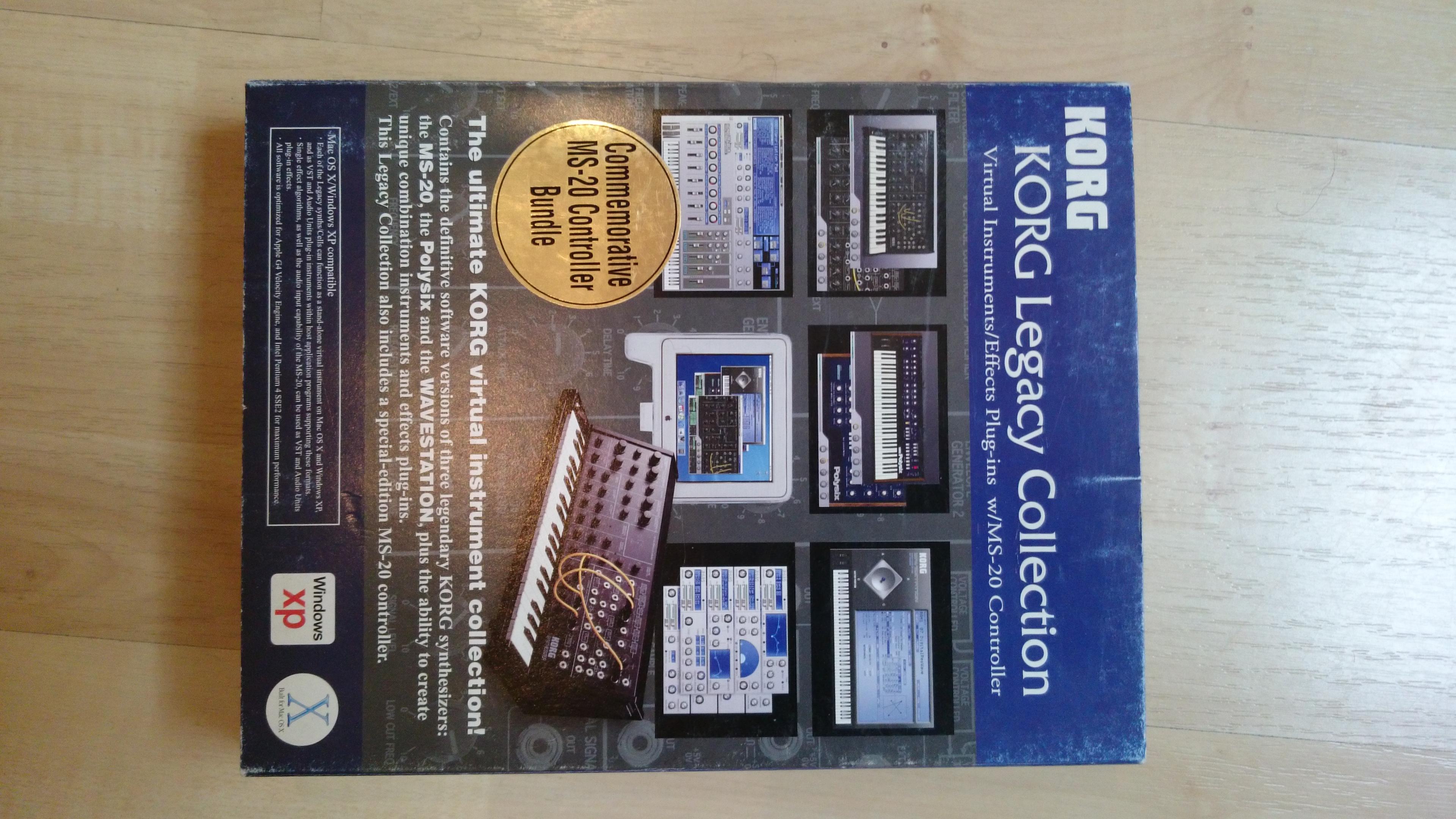 Armin van buuren's korg legacy collection (analog edition.