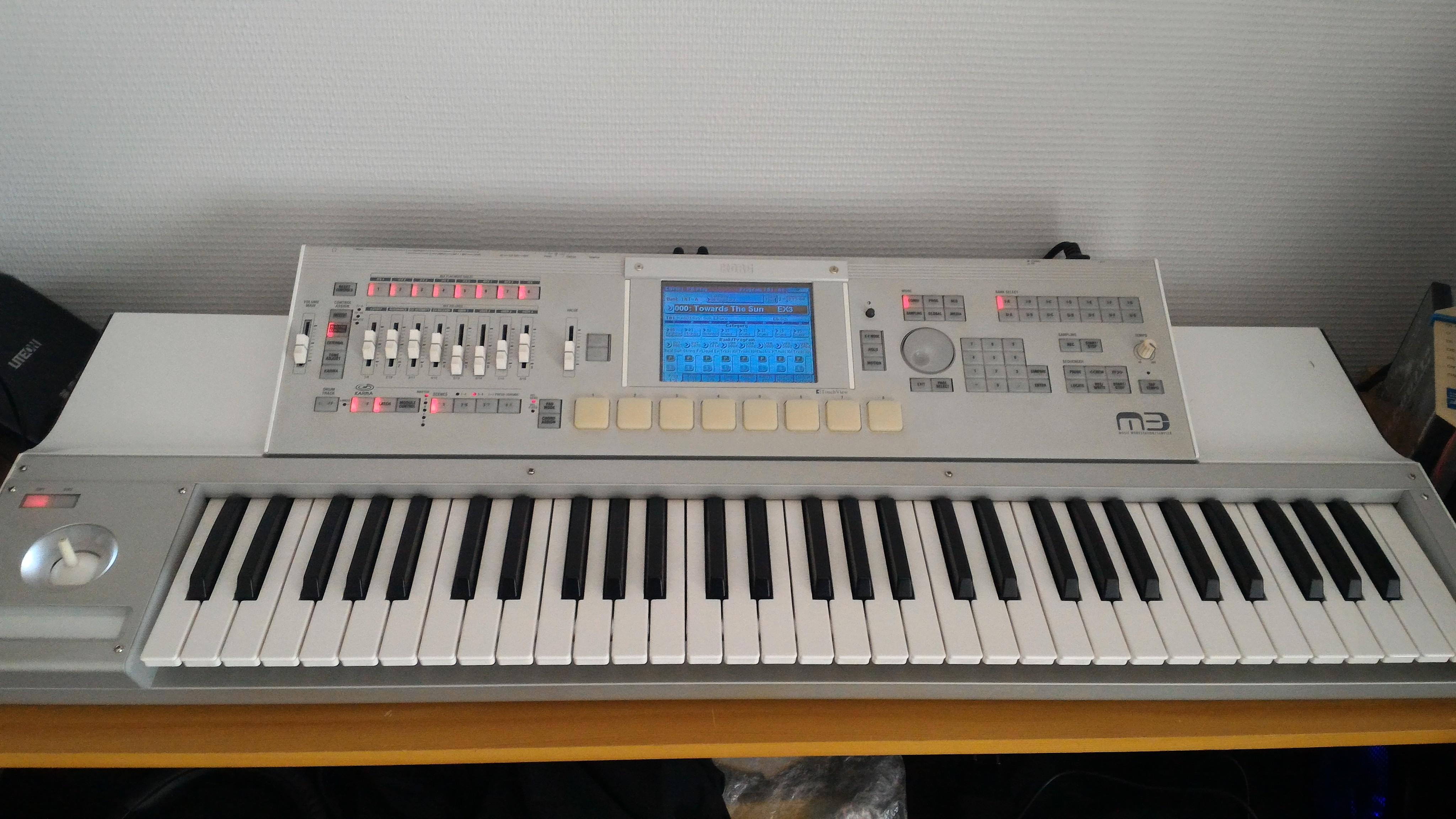 korg m3 61 image 1811881 audiofanzine