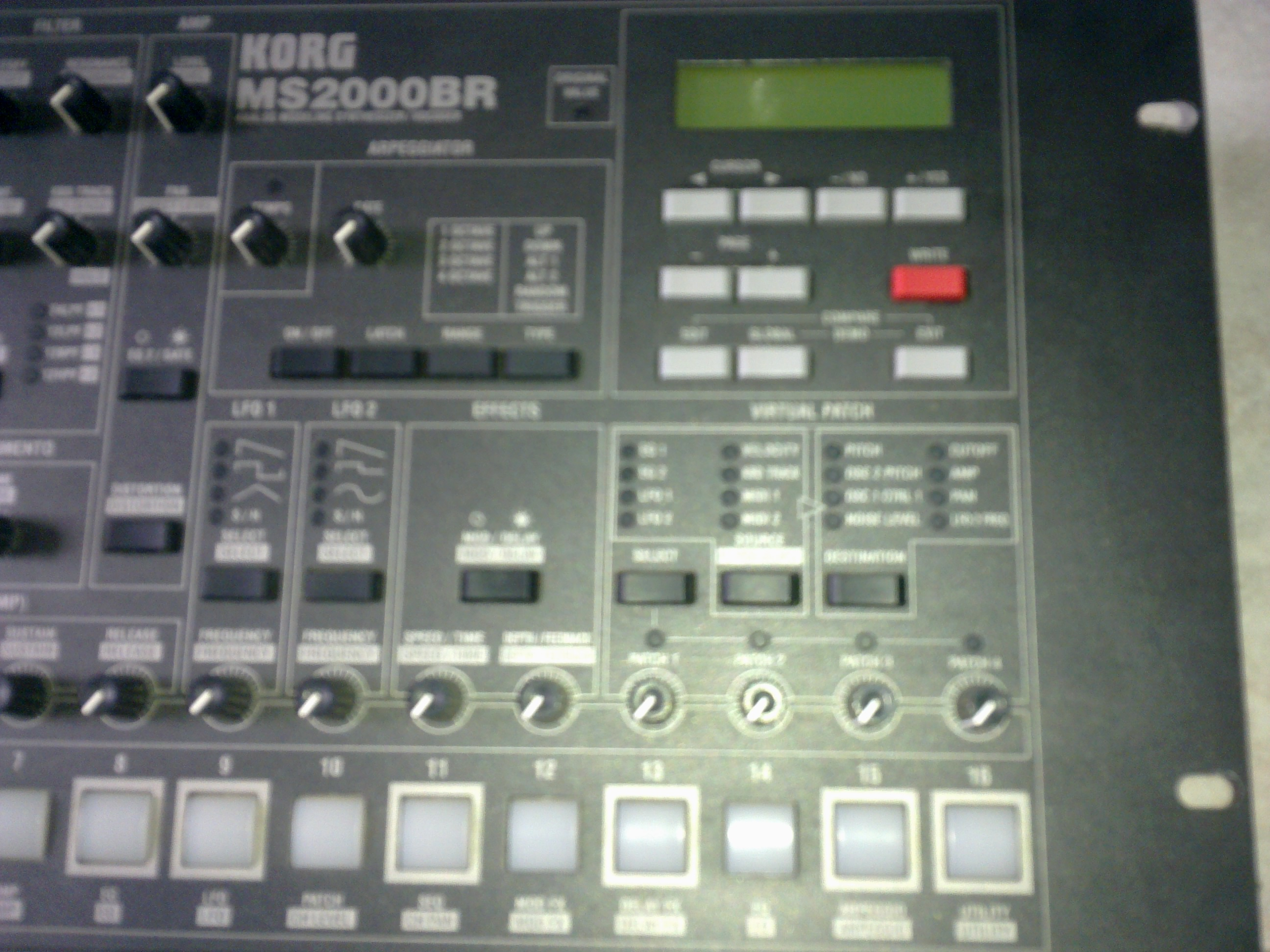 Photo Korg MS2000BR : Korg MS2000BR (12993) (#452021 ...