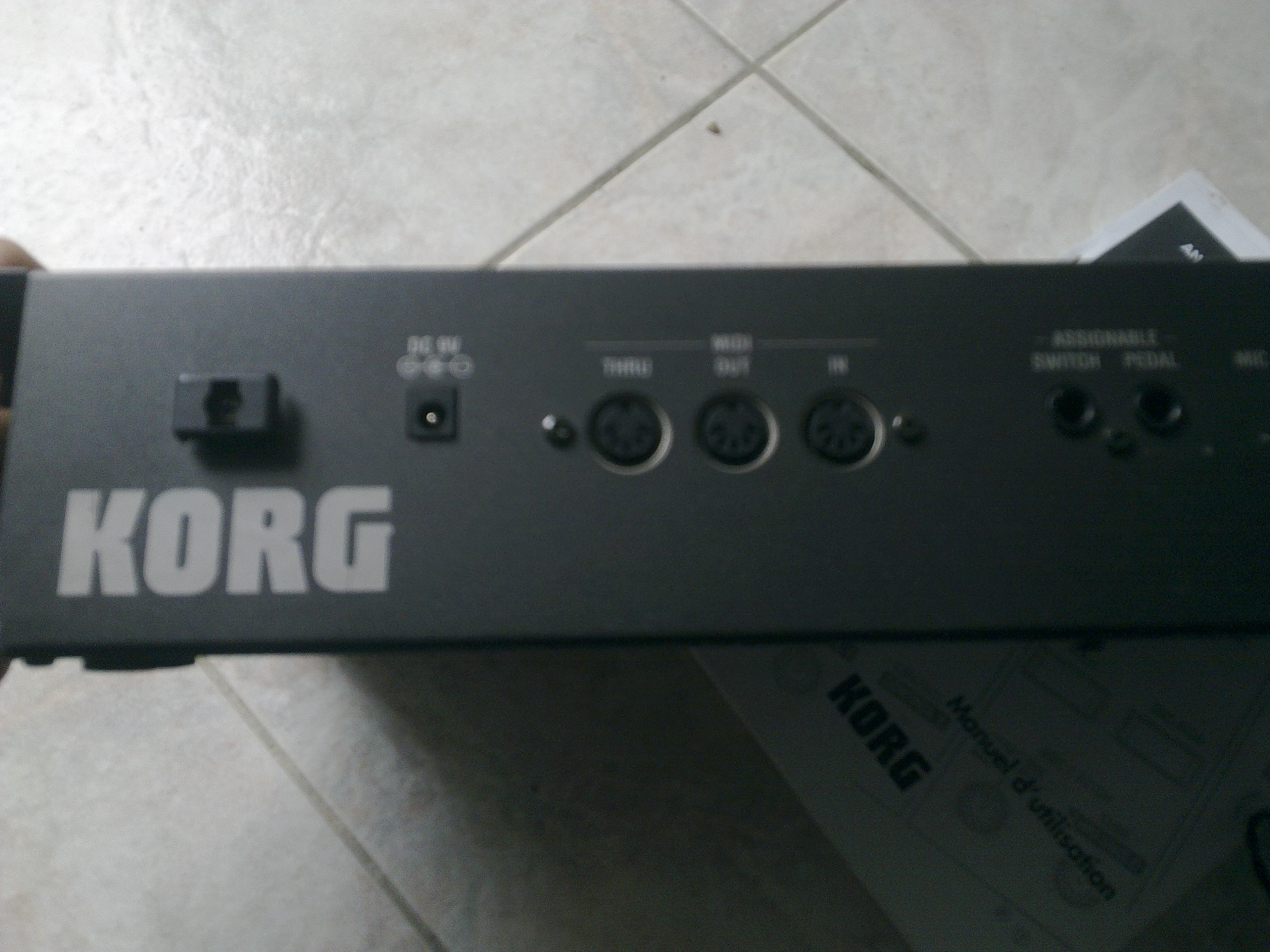 Photo Korg MS2000BR : Korg MS2000BR (90390) (#452024 ...