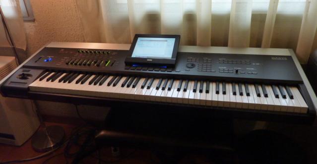 MATRIXSYNTH: Korg Oasys 88 keyboard