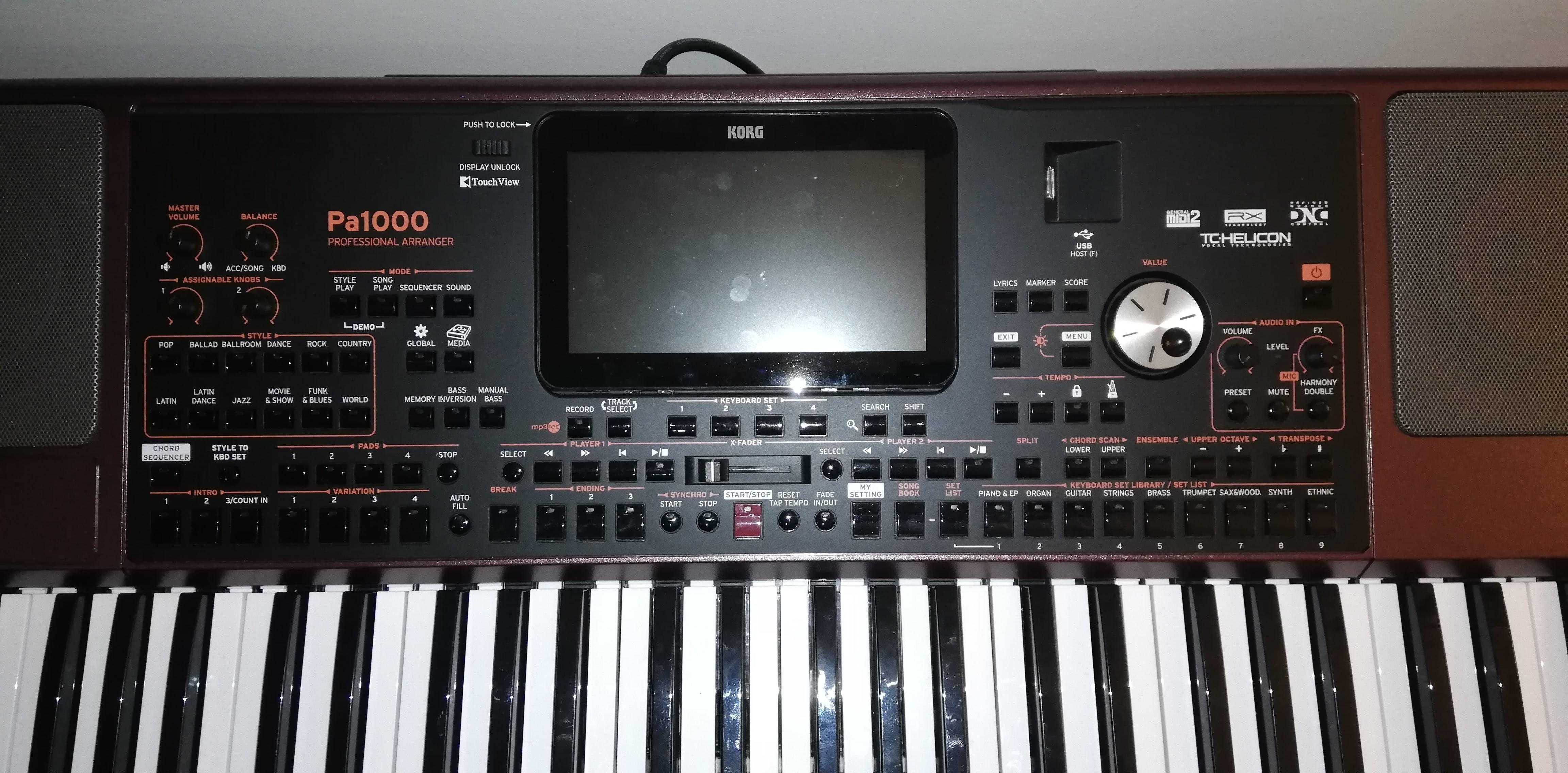 מדהים PA1000 - Korg Pa1000 - Audiofanzine KM-17