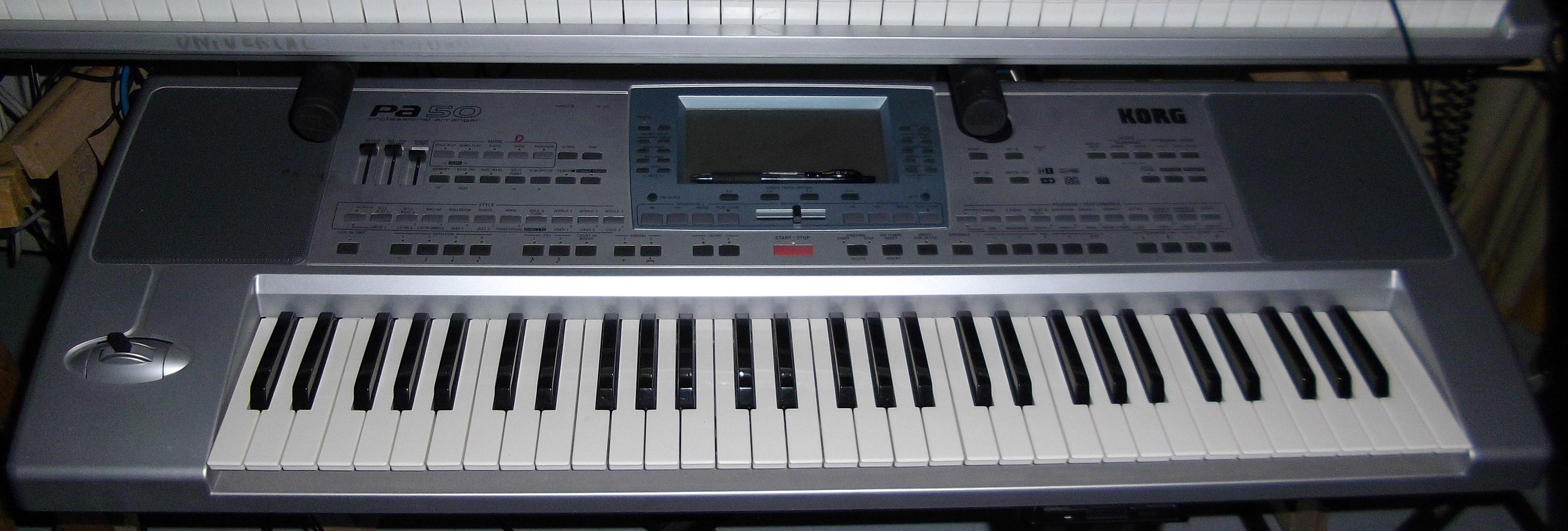 KORG PA - Style set 1 - Keyboardist Sharing