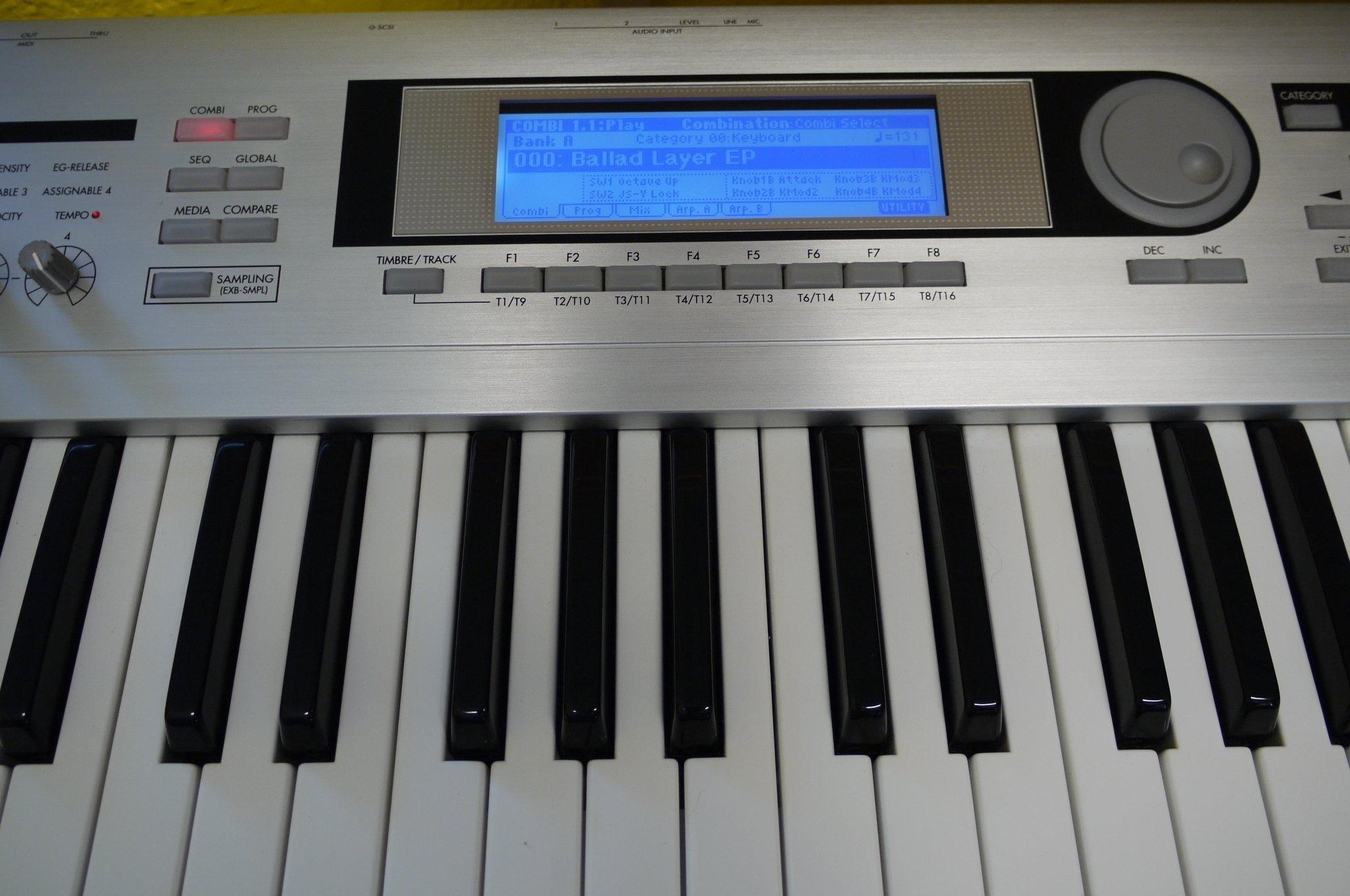korg triton le 76 image 361862 audiofanzine rh en audiofanzine com korg triton extreme music workstation sampler manual korg triton le keyboard manual