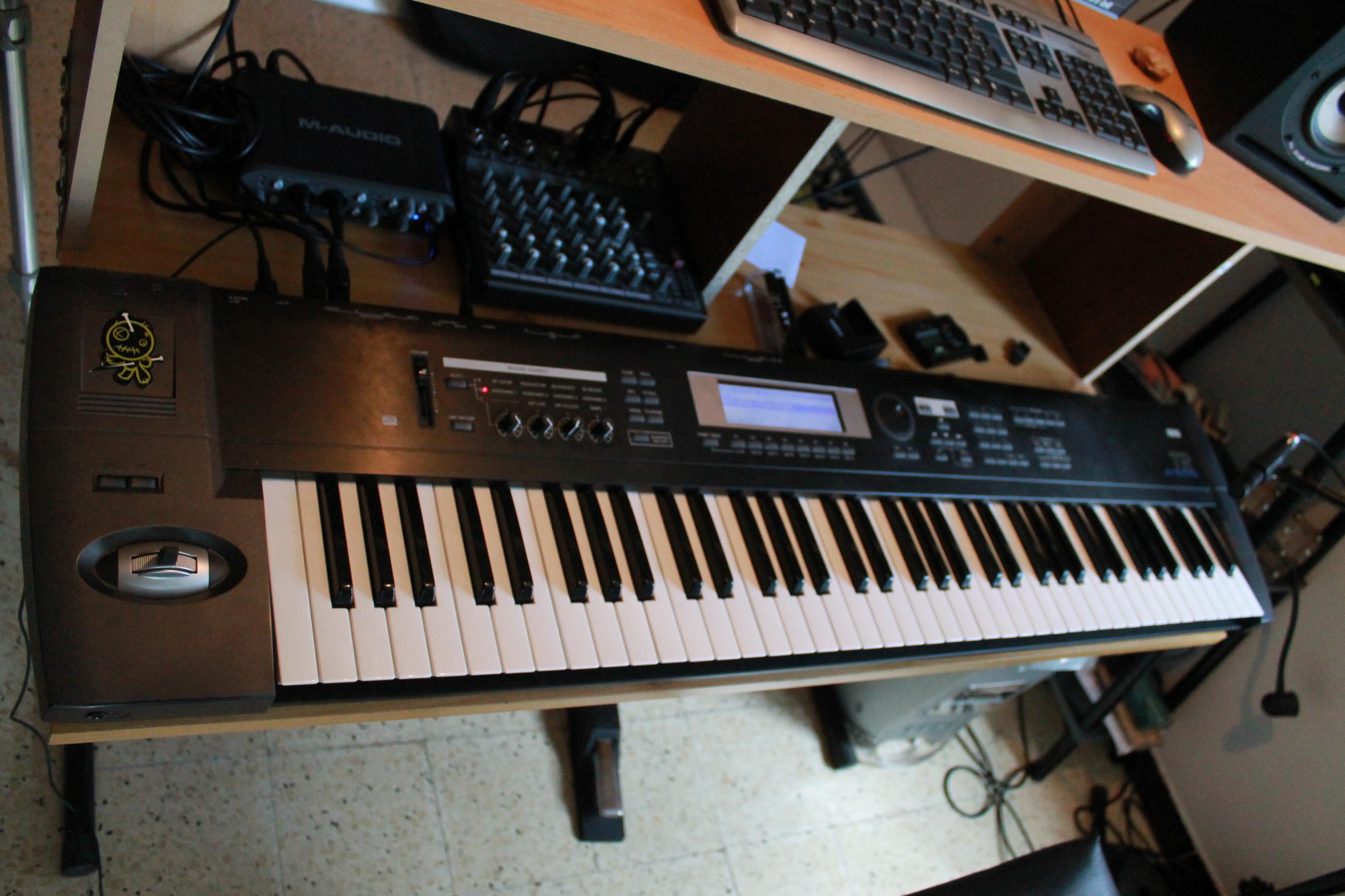 korg triton le 76 image 459739 audiofanzine rh en audiofanzine com Korg Triton Extreme 76 Korg Triton Extreme 76