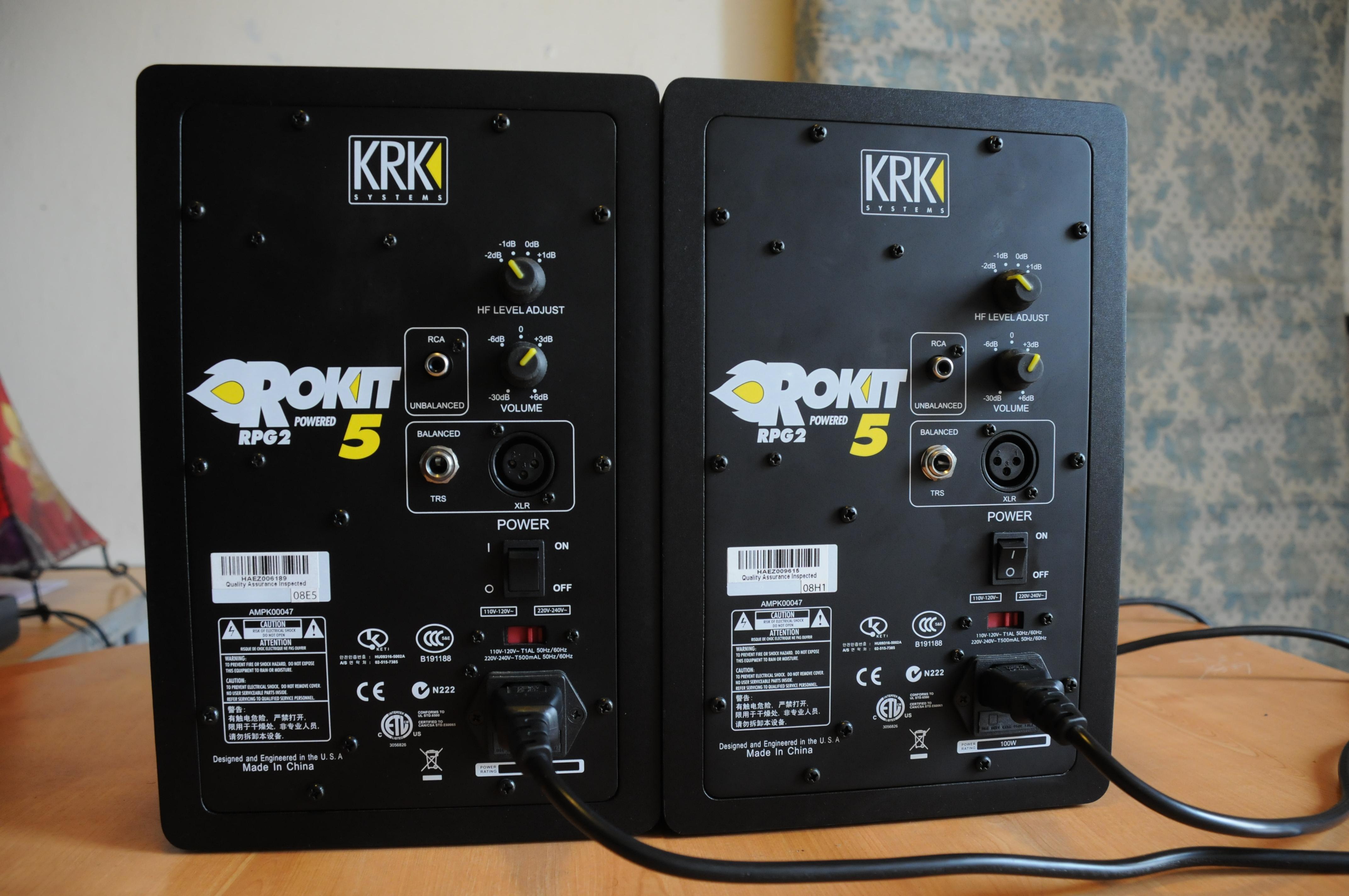 KRK Rokit 5 G2 image (#456283) - Audiofanzine