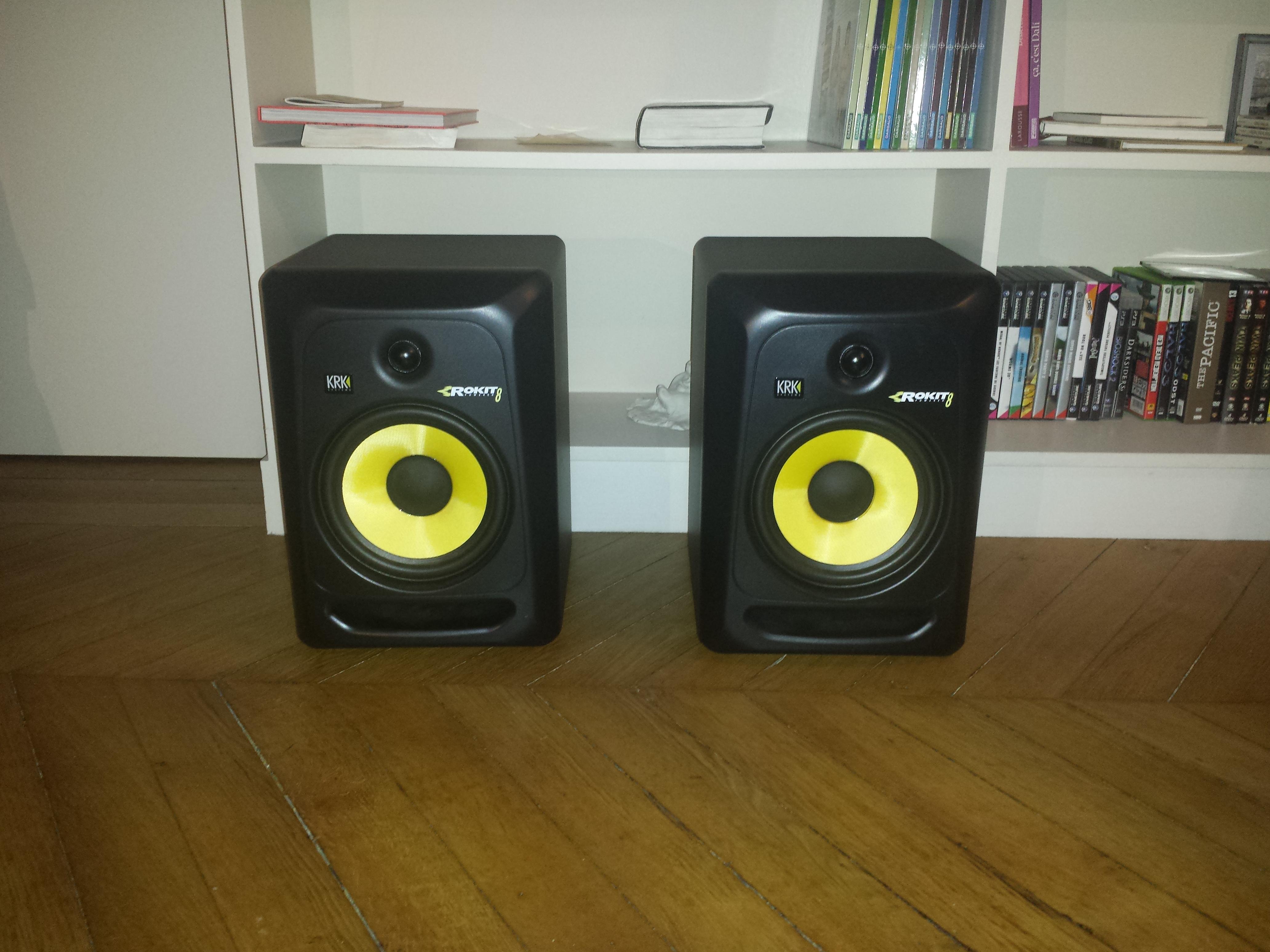 rokit 8 g3 krk rokit 8 g3 audiofanzine. Black Bedroom Furniture Sets. Home Design Ideas