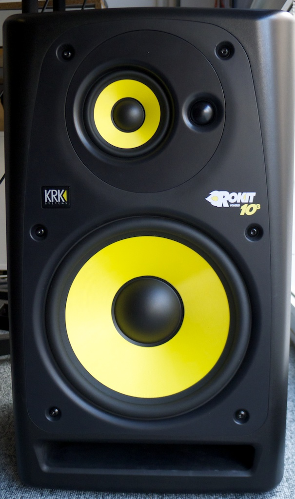 test des krk rokit powered 10 3 surfing on a rokit audiofanzine. Black Bedroom Furniture Sets. Home Design Ideas