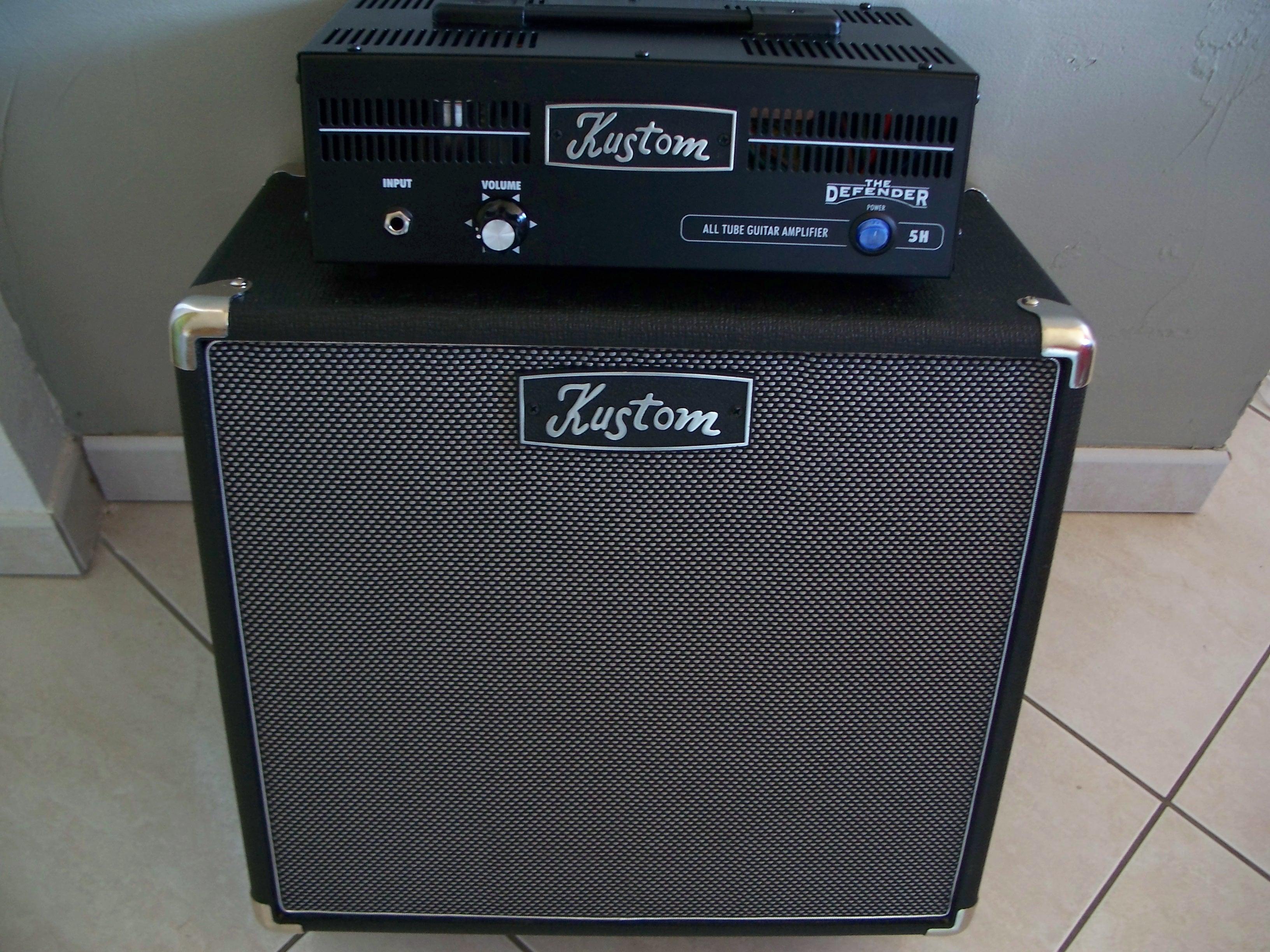 Kustom 1x12 Cabinet Kustom Defender 1x12 Image 1126615 Audiofanzine