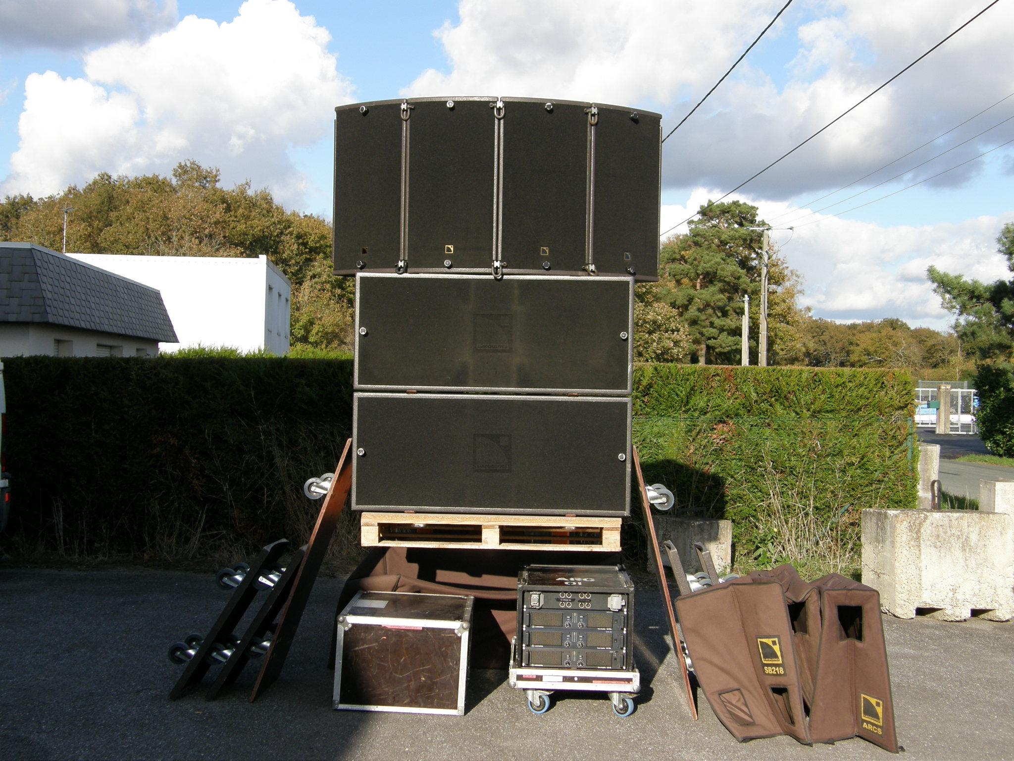 L Acoustics Arcs Et Sb 218 Image 330067 Audiofanzine