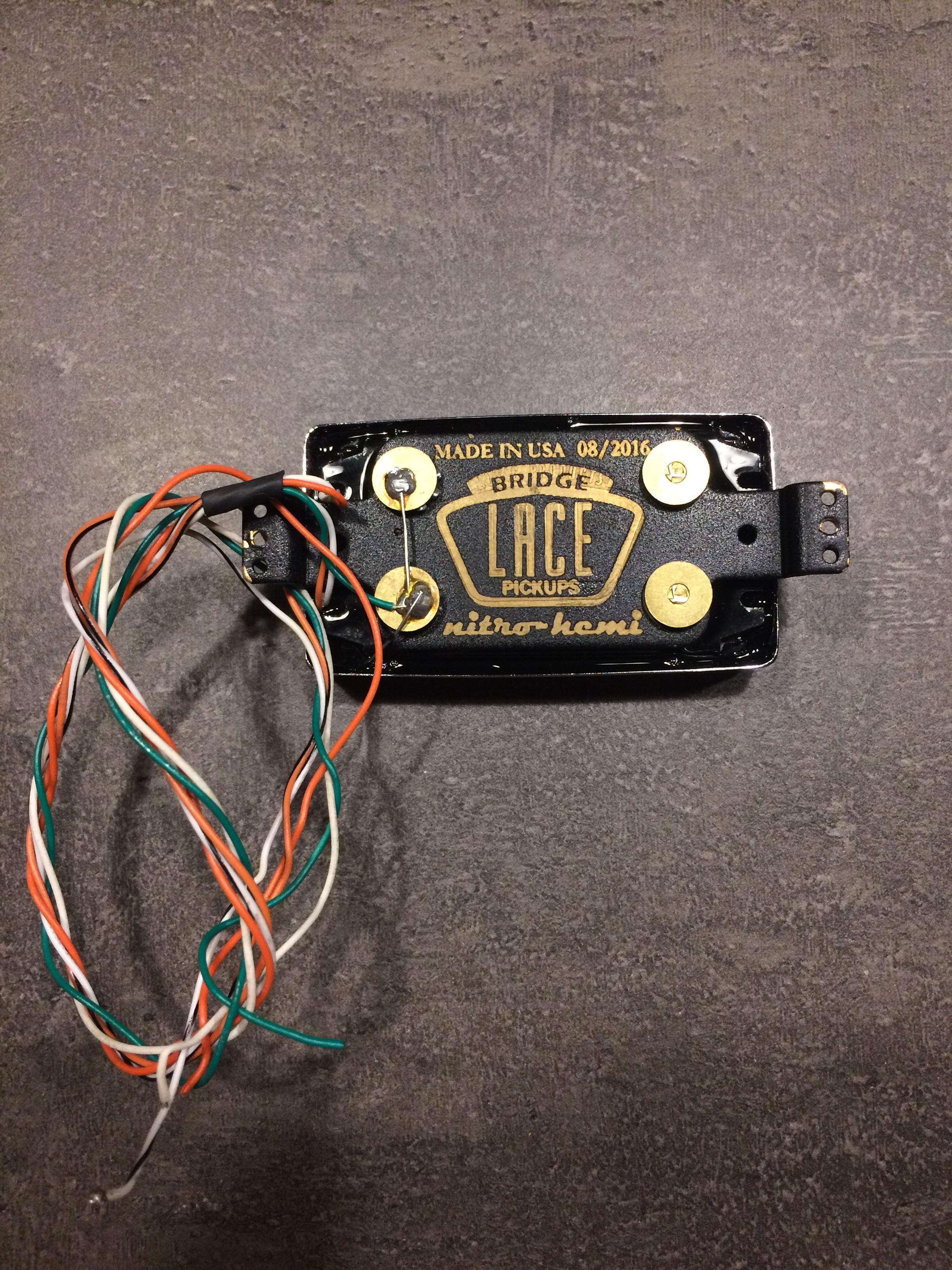 Lace Nitro Hemi™ 7 String Humbucker Bridge Pickup