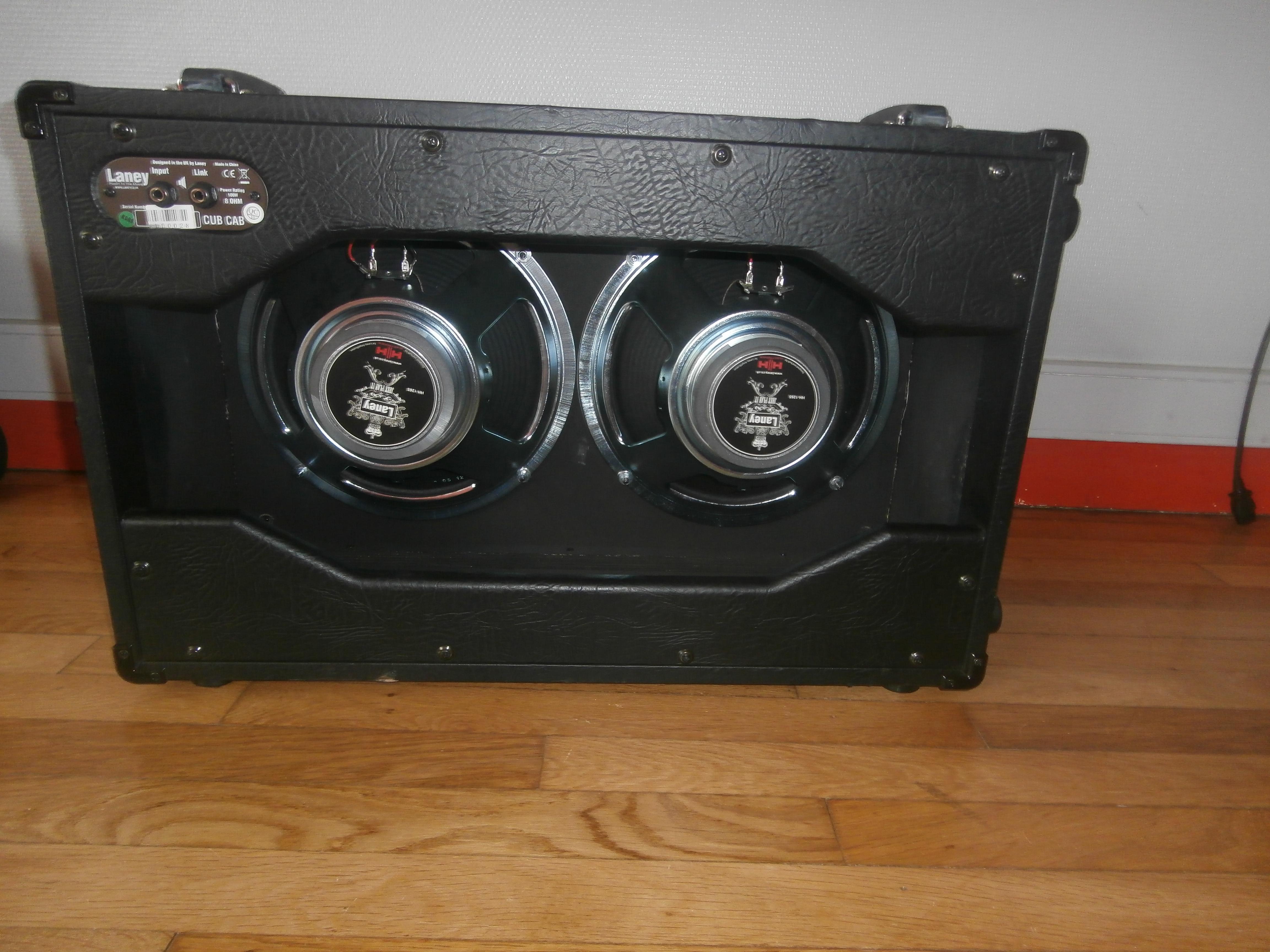 laney cub cab image 1429335 audiofanzine. Black Bedroom Furniture Sets. Home Design Ideas
