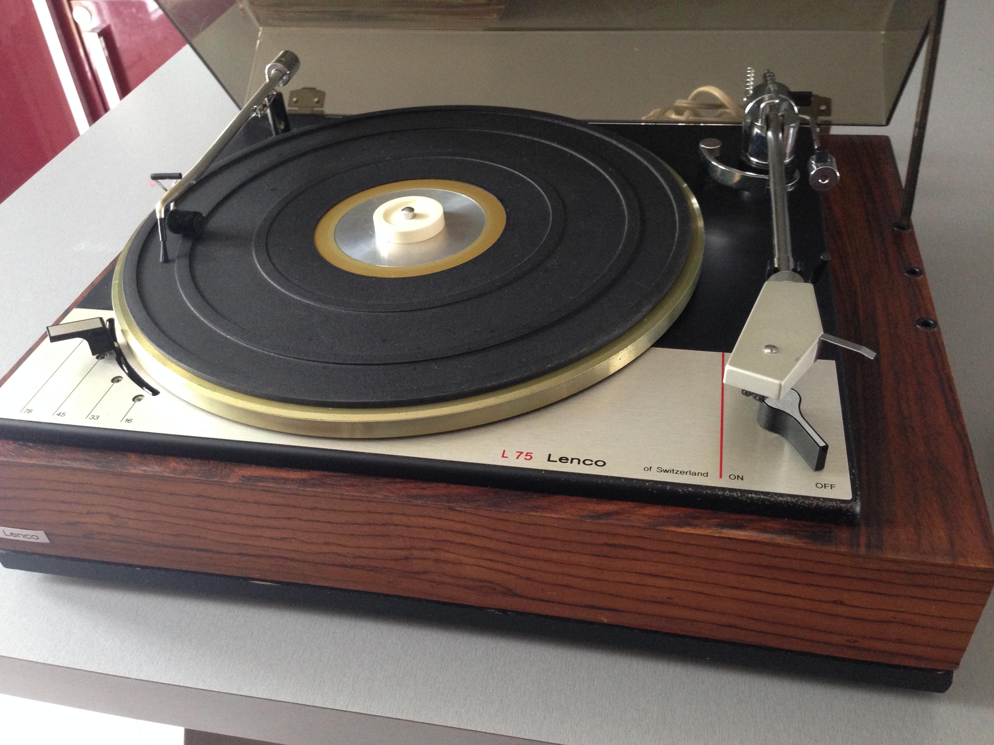 Platine vinyle vintage lenco l75 nord pas de calais audiofanzine - Ampli platine vinyle ...