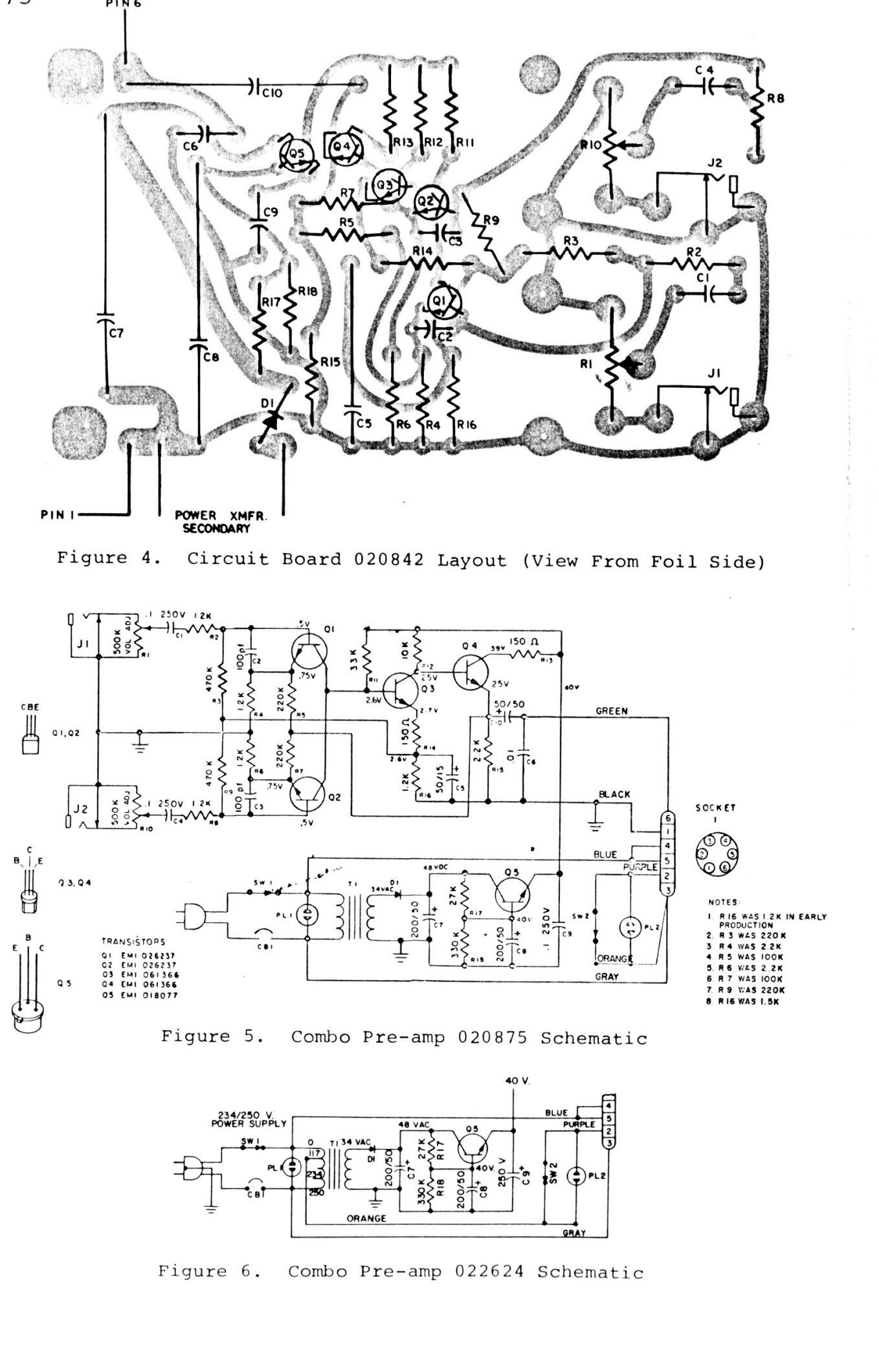 Leslie Combo Pre-amp Image   397728