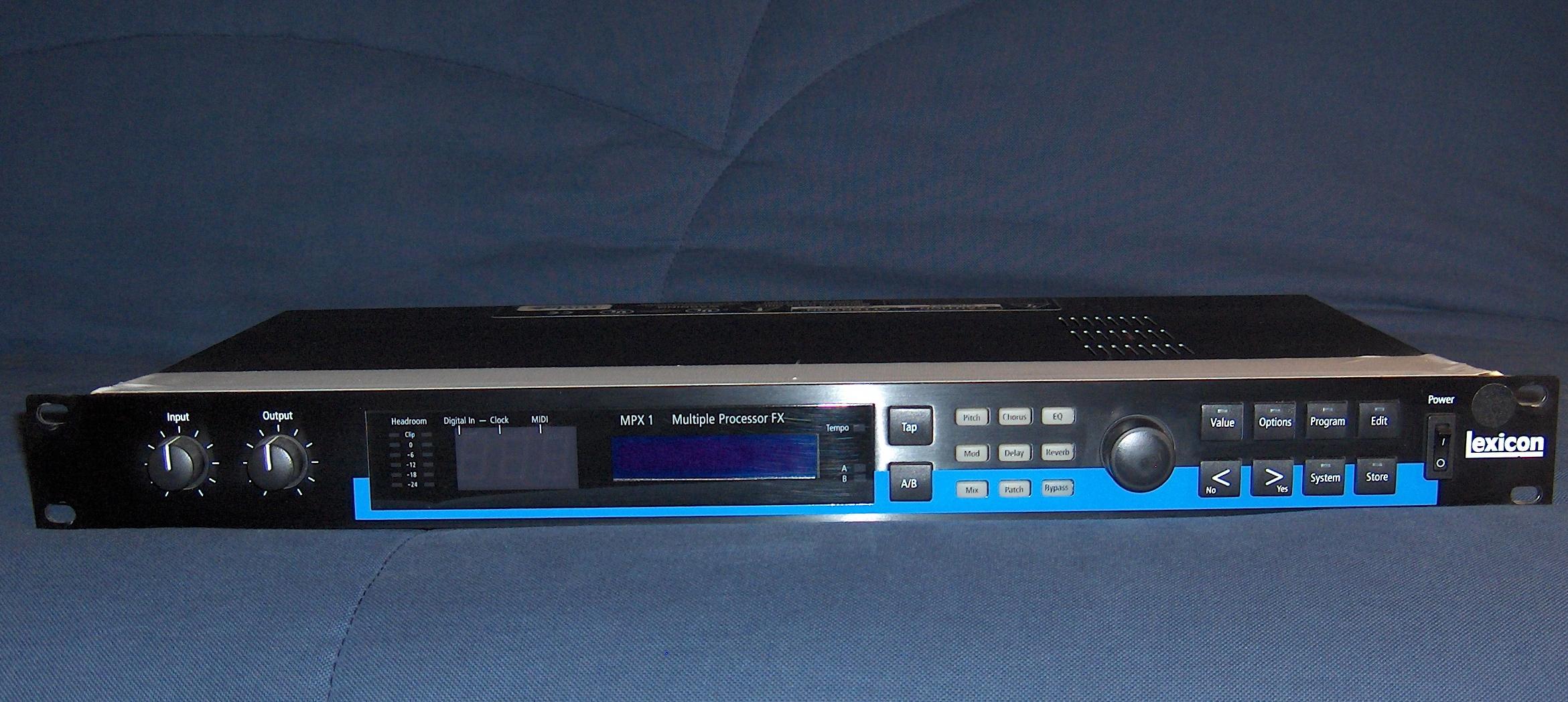 lexicon mpx 1 image 693968 audiofanzine rh en audiofanzine com lexicon mpx 1 manuel francais MPX Carbine