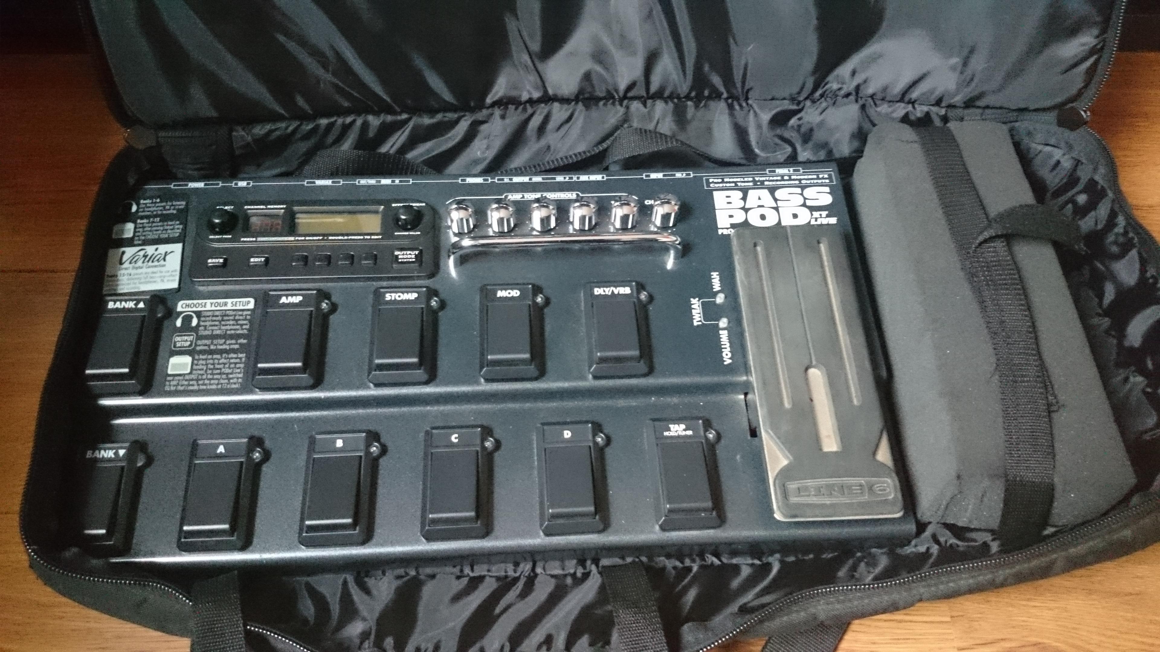line 6 bass pod xt pro manual