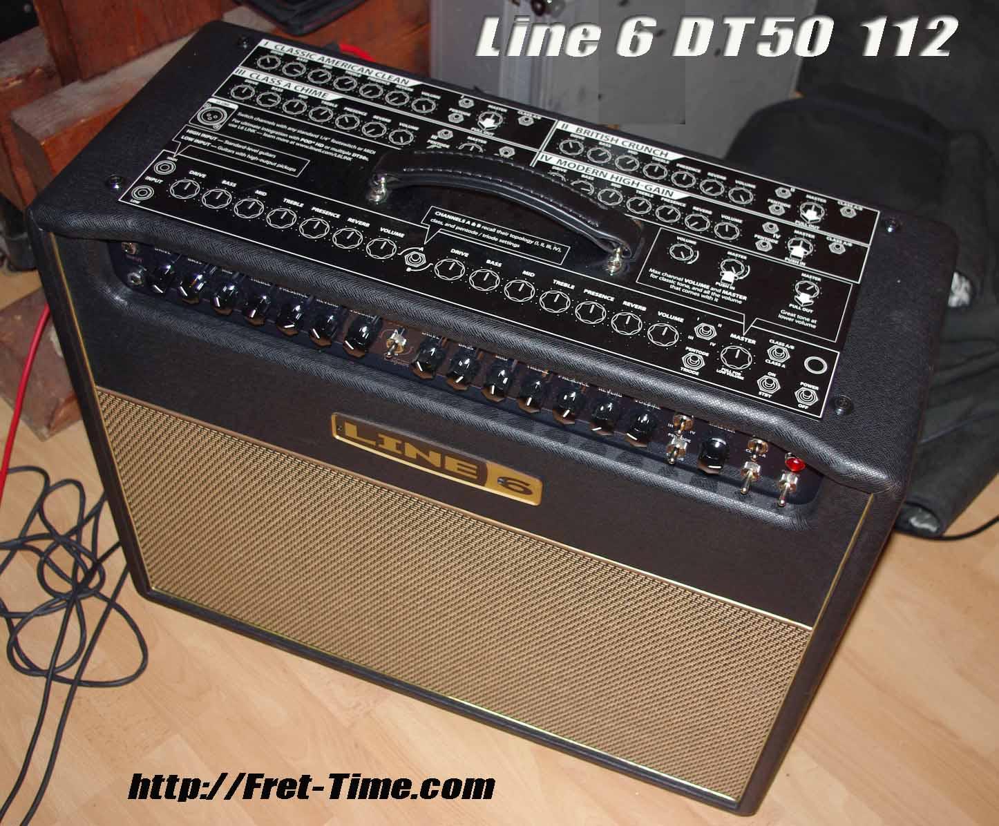 line 6 dt50 112 image 408454 audiofanzine rh en audiofanzine com Line 6 DT50 Half Stack Line 6 DT50 Head