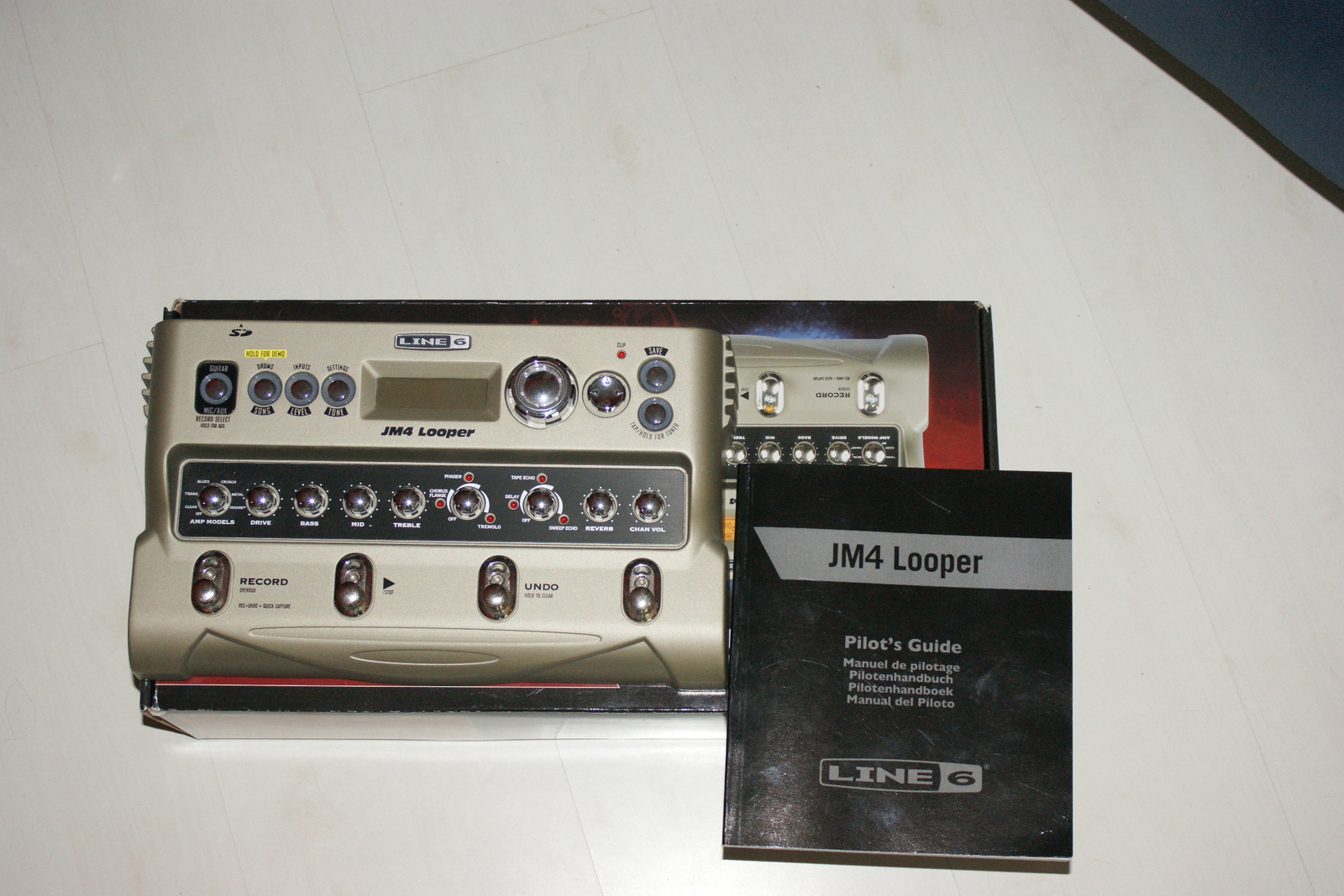 line 6 jm4 looper image 183268 audiofanzine rh en audiofanzine com Line 6 JM4 Looper Line 6 JM4 Looper Demo