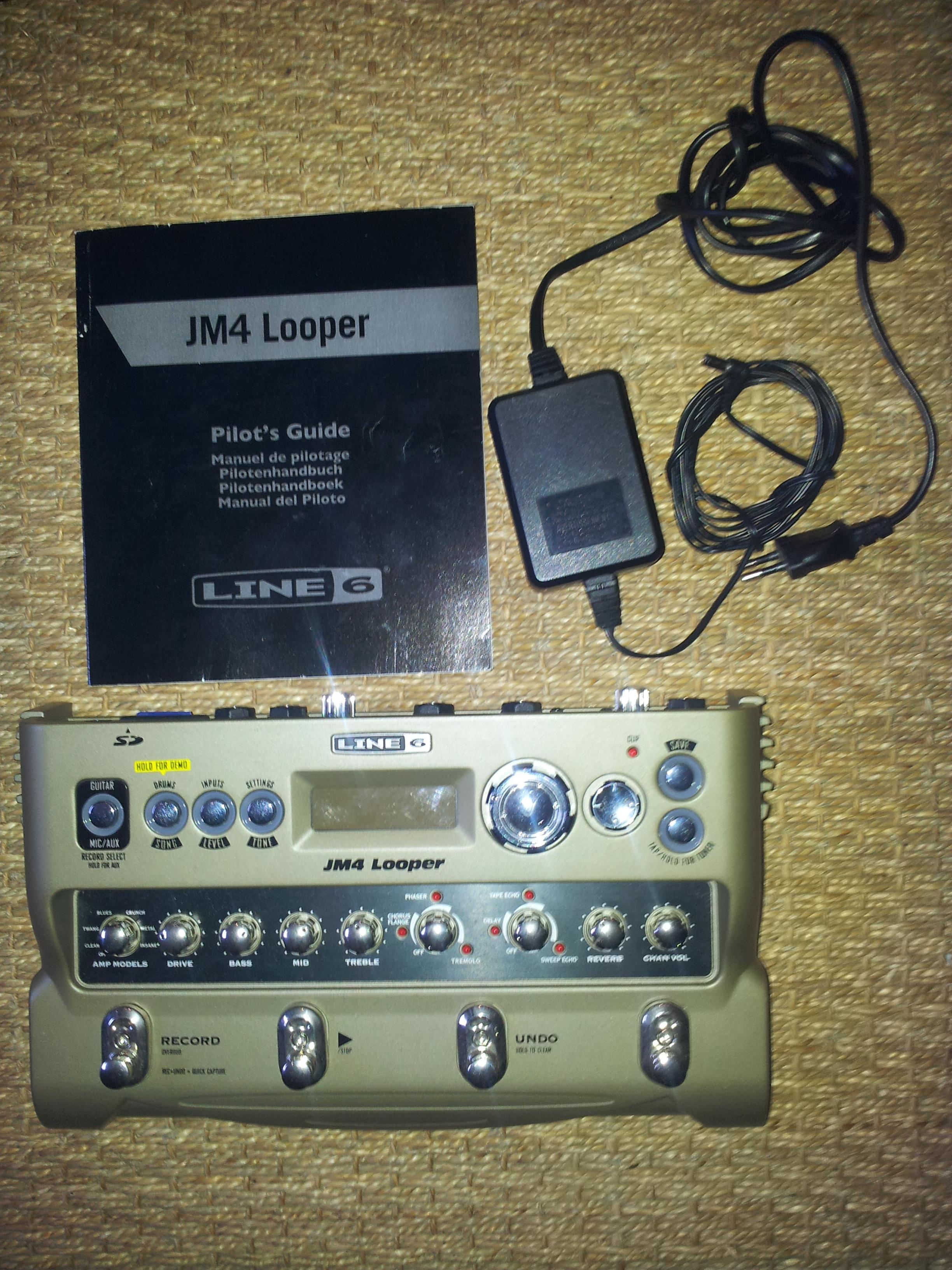 line 6 jm4 looper image 417637 audiofanzine rh en audiofanzine com Line 6 JM4 Looper Review Line 6 JM4 Looper Guitar Effects Pedal