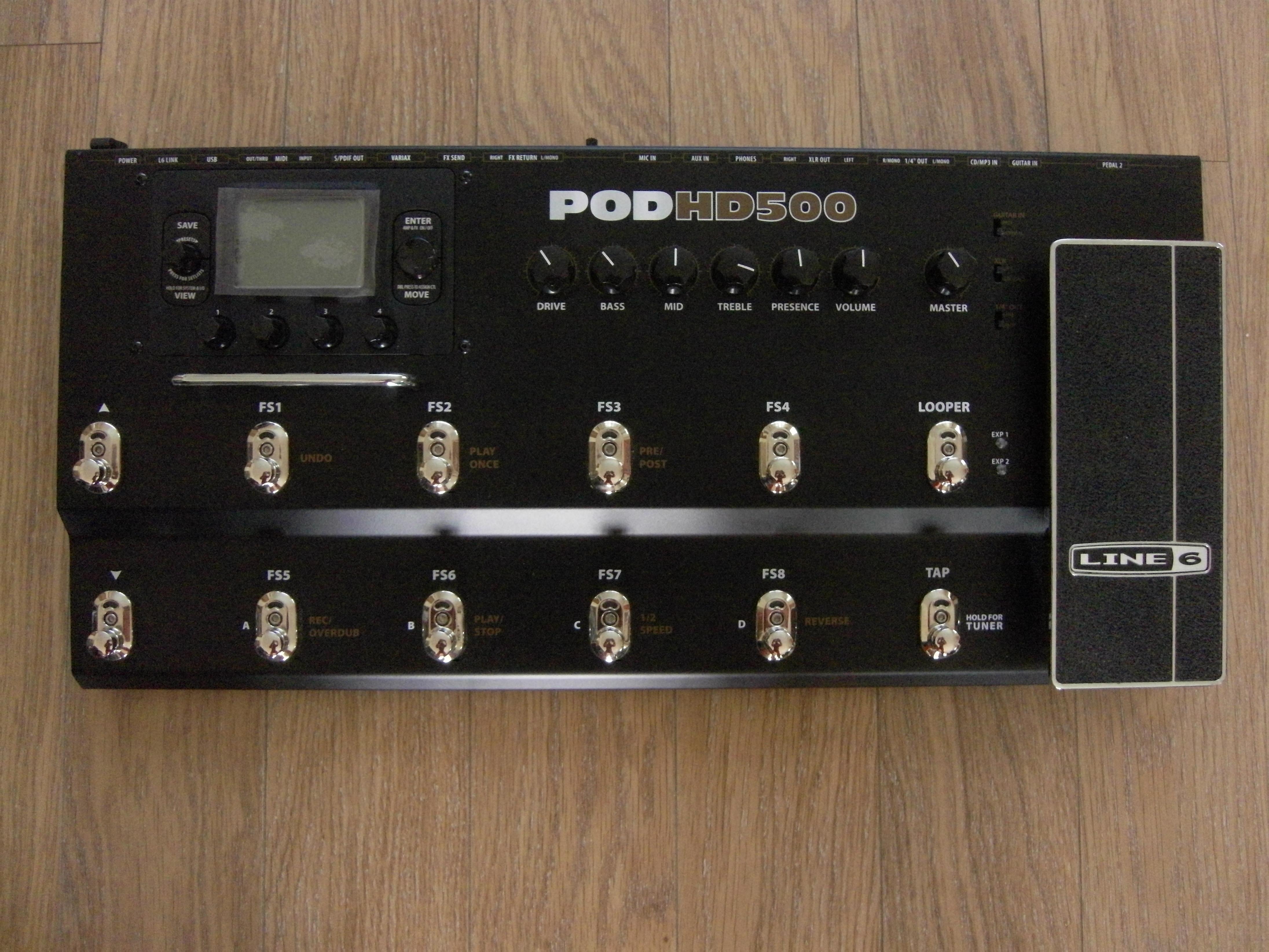 Line 6 Pod Hd500 Инструкция