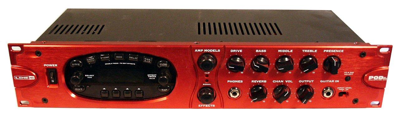 line 6 pod xt pro image 551581 audiofanzine rh en audiofanzine com line 6 pod xt pro user manual Line 6 Pod XT Pro