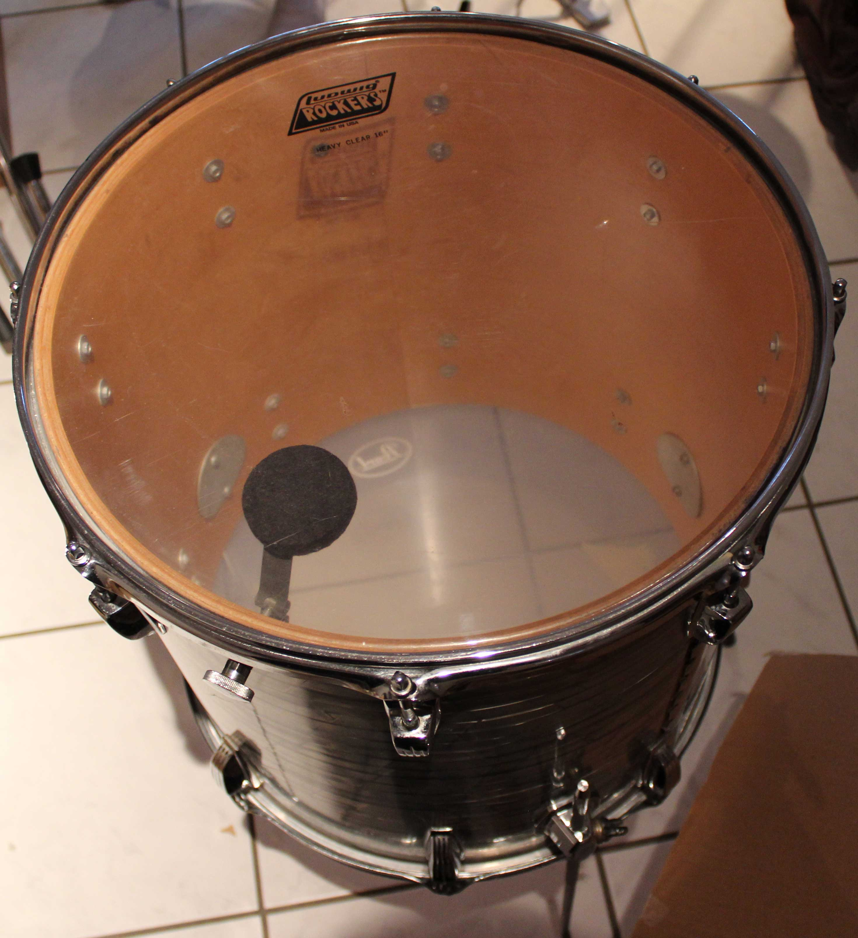 Ludwig drums classic maple floor tom 16 x 16 image for 16 floor tom