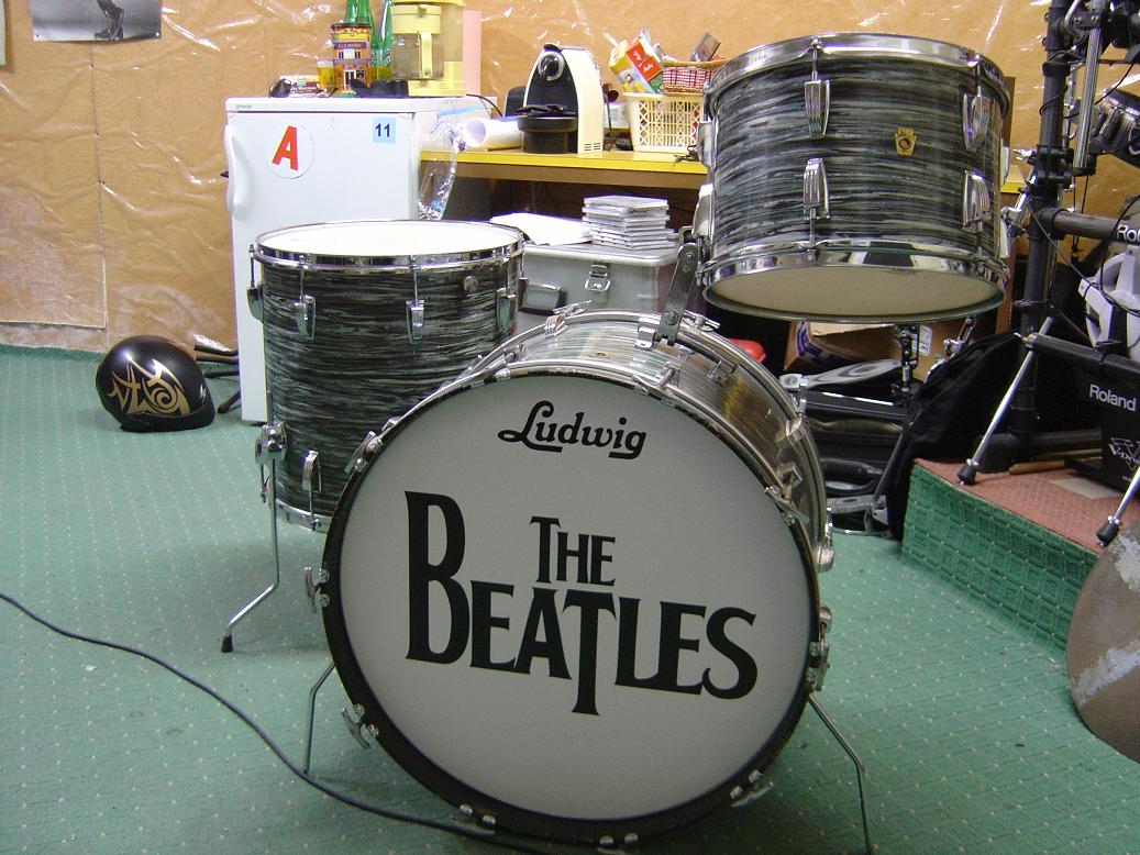Ludwig drums ludwig vintage image 403898 audiofanzine for Classic house drums